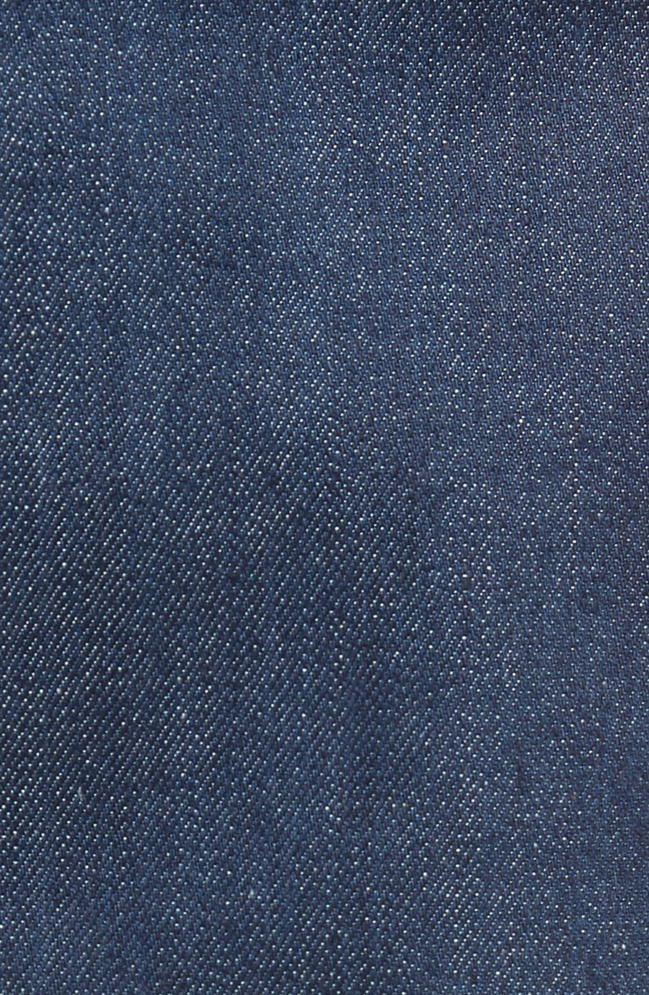 Weird Guy Slim Fit Jeans,                             Alternate thumbnail 5, color,                             Workmans Blue