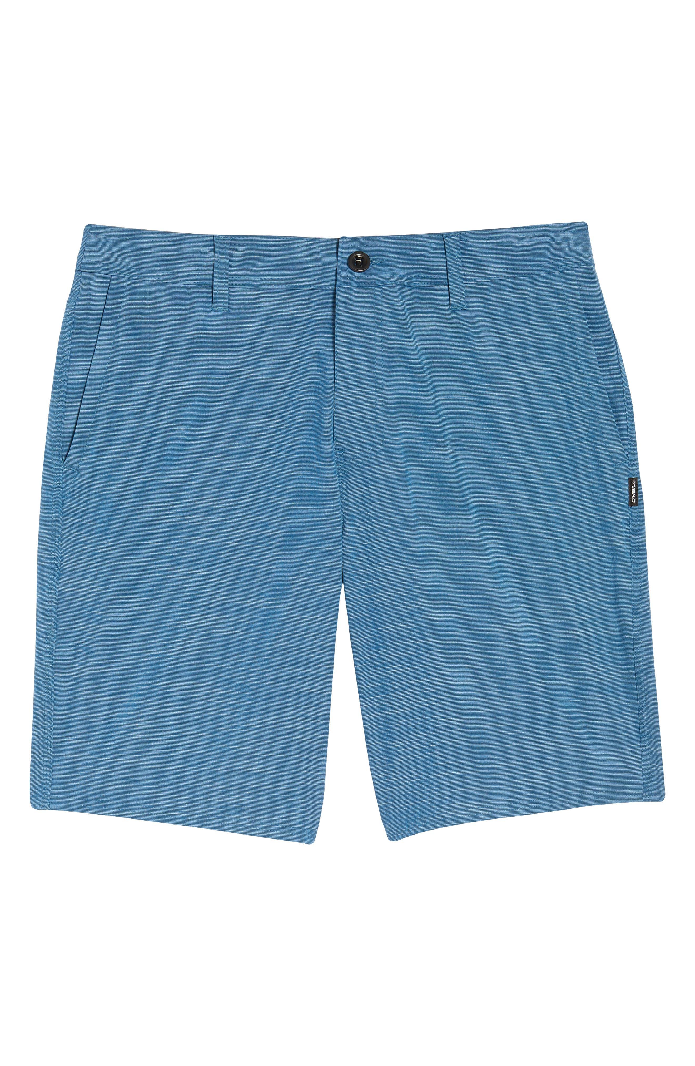 Locked Slub Hybrid Shorts,                             Alternate thumbnail 6, color,                             Air Force Blue