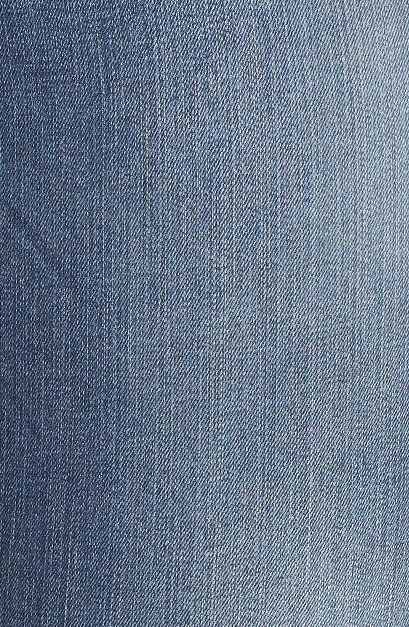 Embroidered Skinny Jeans,                             Alternate thumbnail 4, color,                             Input
