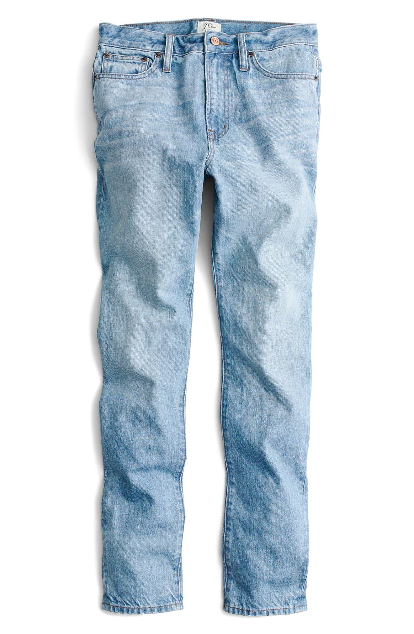 Retro Big Idea Jeans,                             Alternate thumbnail 3, color,                             Fern Wash