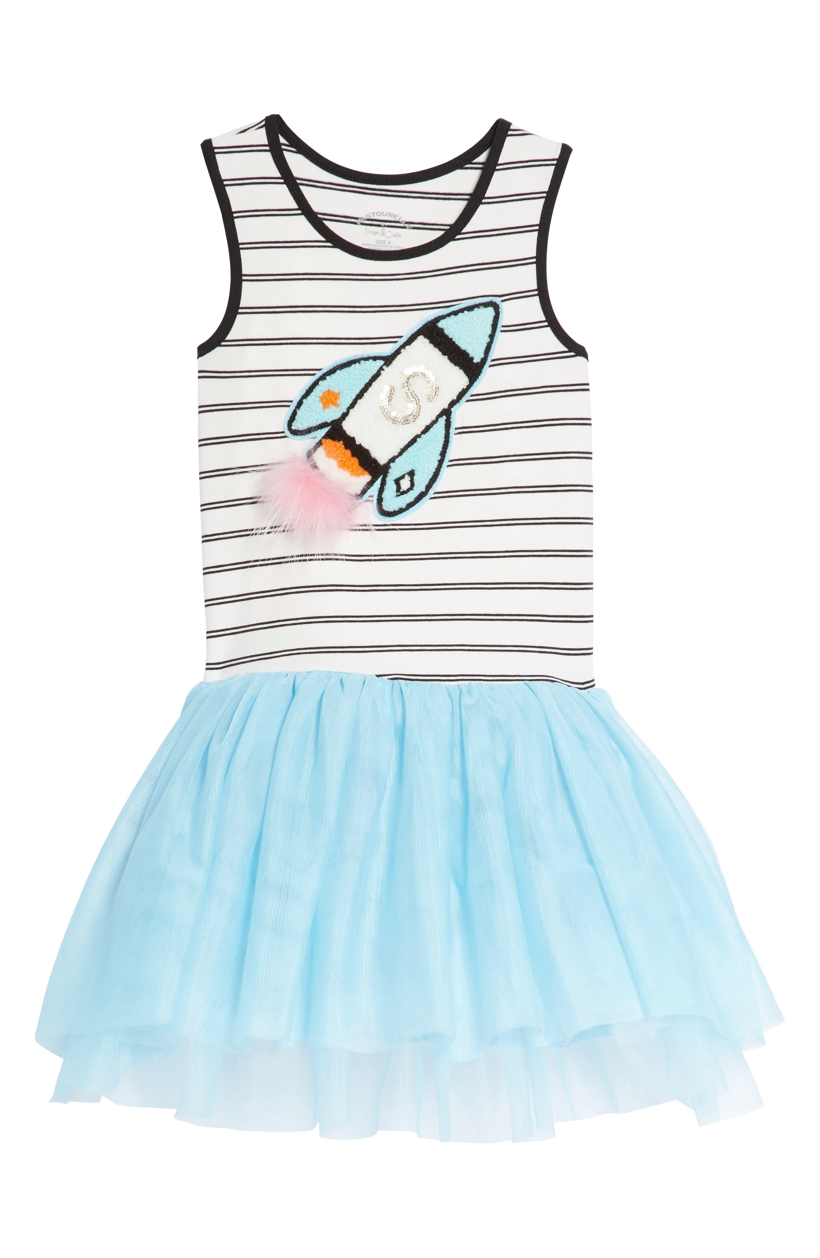 Pastourelle by Pippa & Julie 3D Rocket Tutu Tank Dress (Toddler Girls, Little Girls & Big Girls)