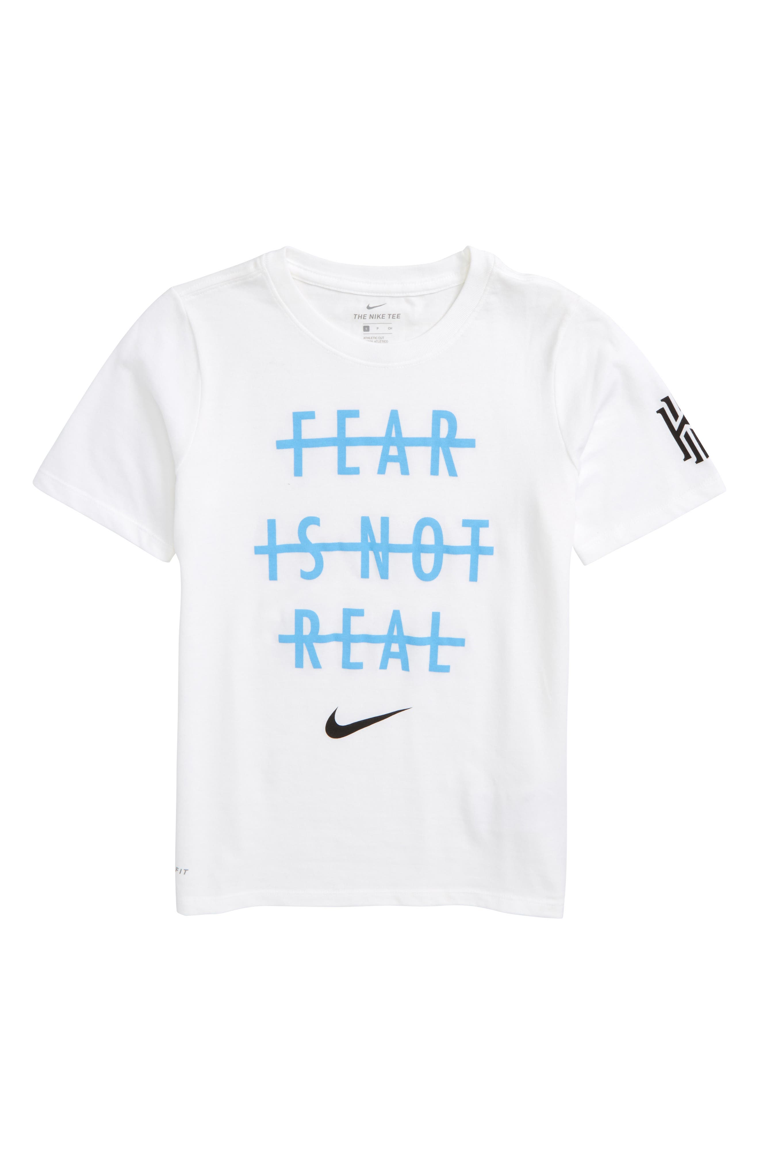 Nike Kyrie Dry Fear is Not Real Screenprint T-Shirt (Little Boys & Big Boys)