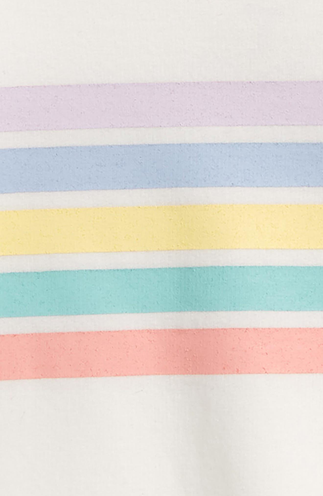 Rainbow Graphic Sweatshirt,                             Alternate thumbnail 2, color,                             Cream
