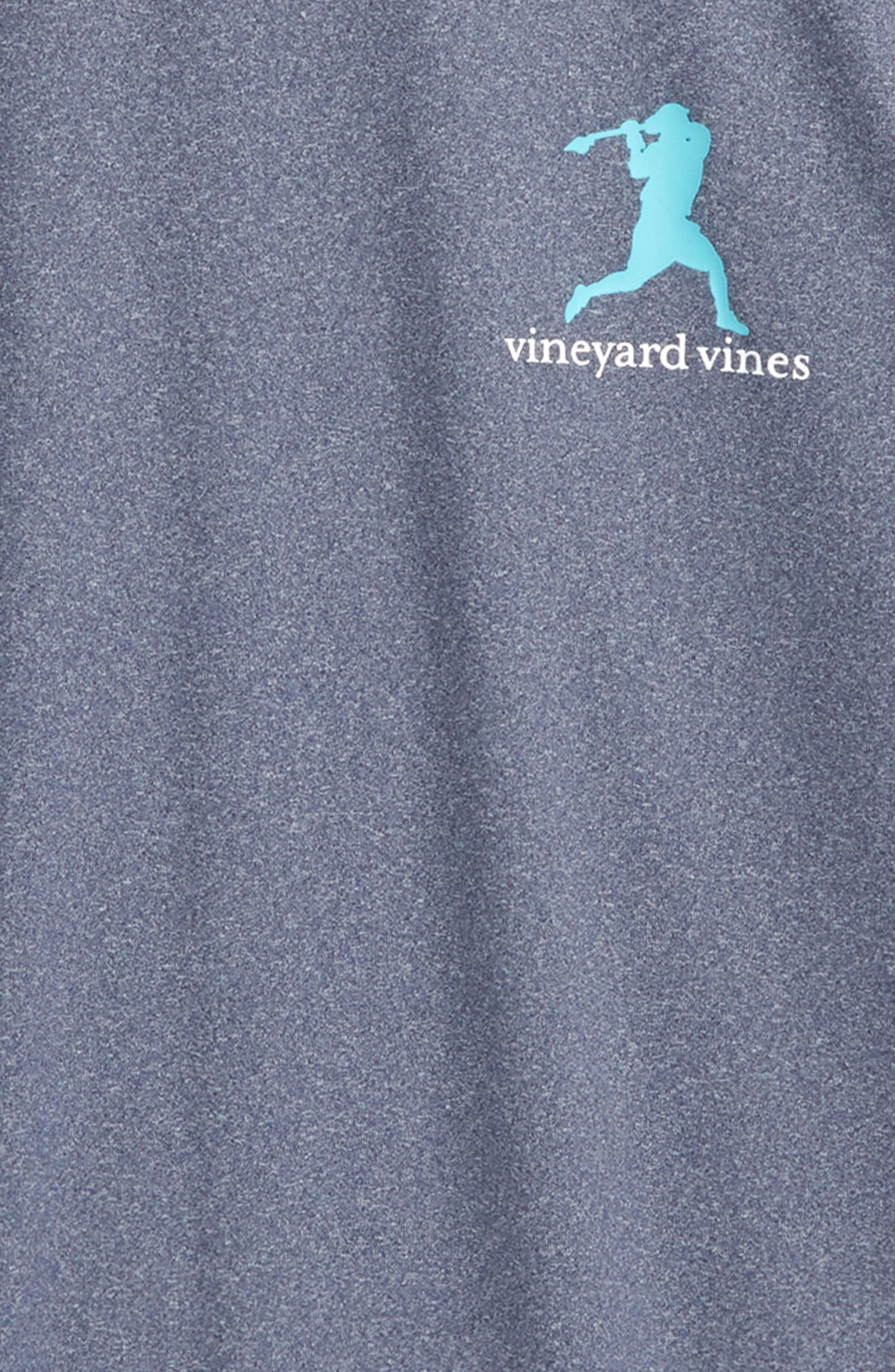 Wind Up Shot Graphic Performance T-Shirt,                             Alternate thumbnail 3, color,                             Deep Bay