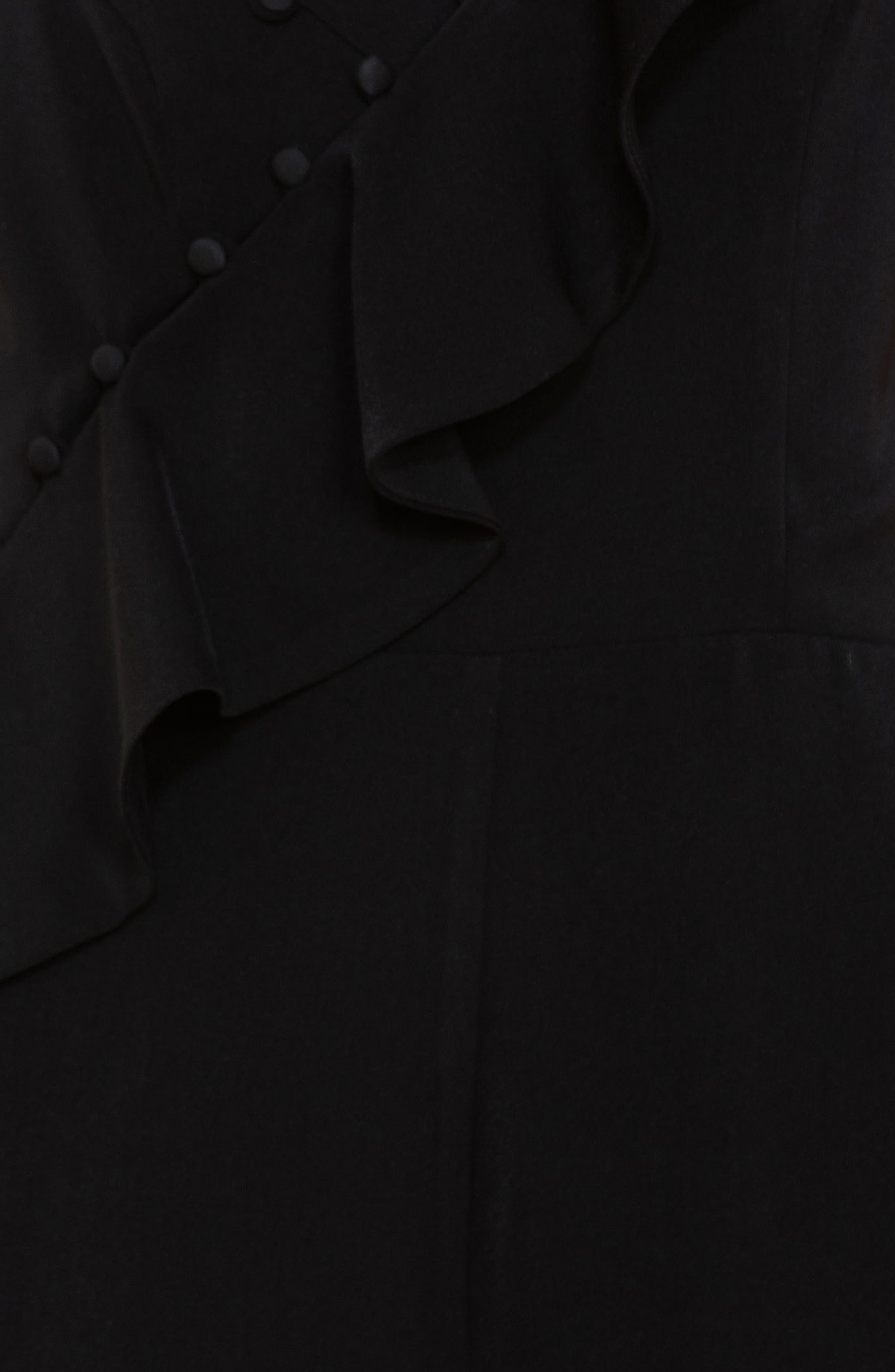 Button Detail Jumpsuit,                             Alternate thumbnail 7, color,                             Black