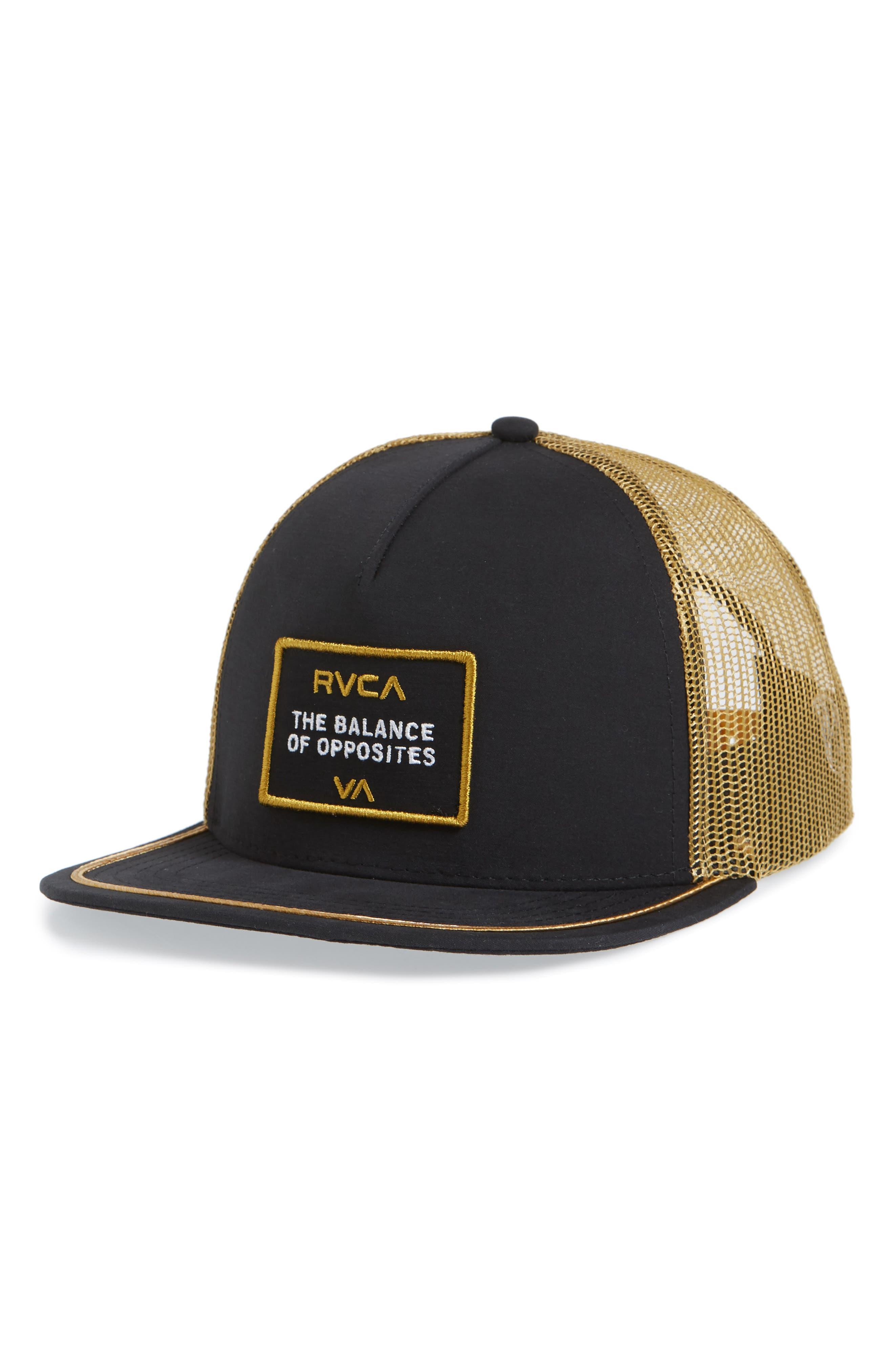 Billboard Trucker Hat,                         Main,                         color, Black