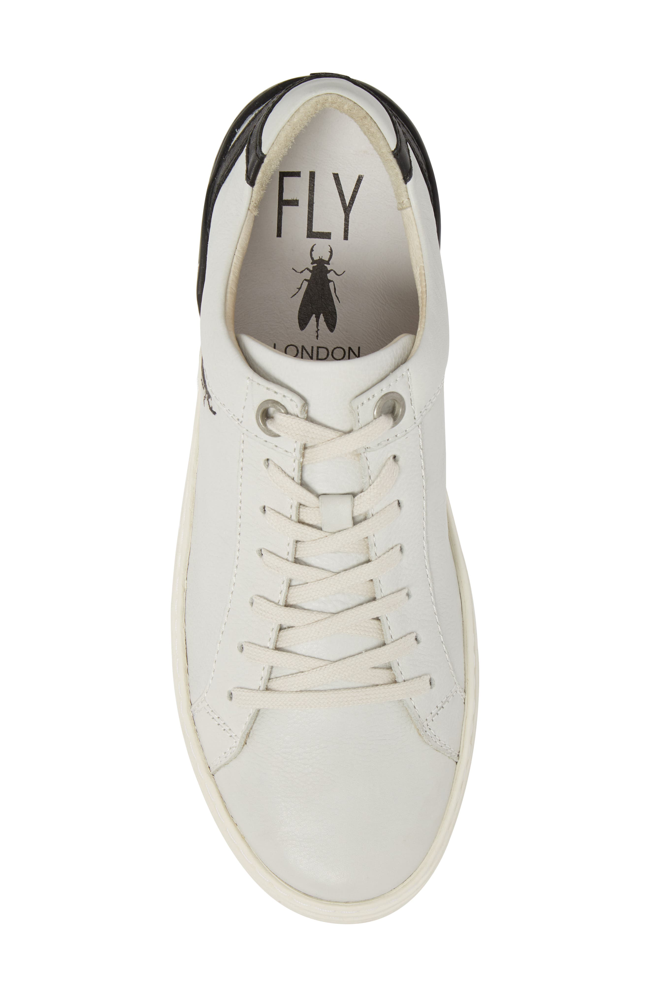 Sene Low Top Sneaker,                             Alternate thumbnail 5, color,                             Off White Leather