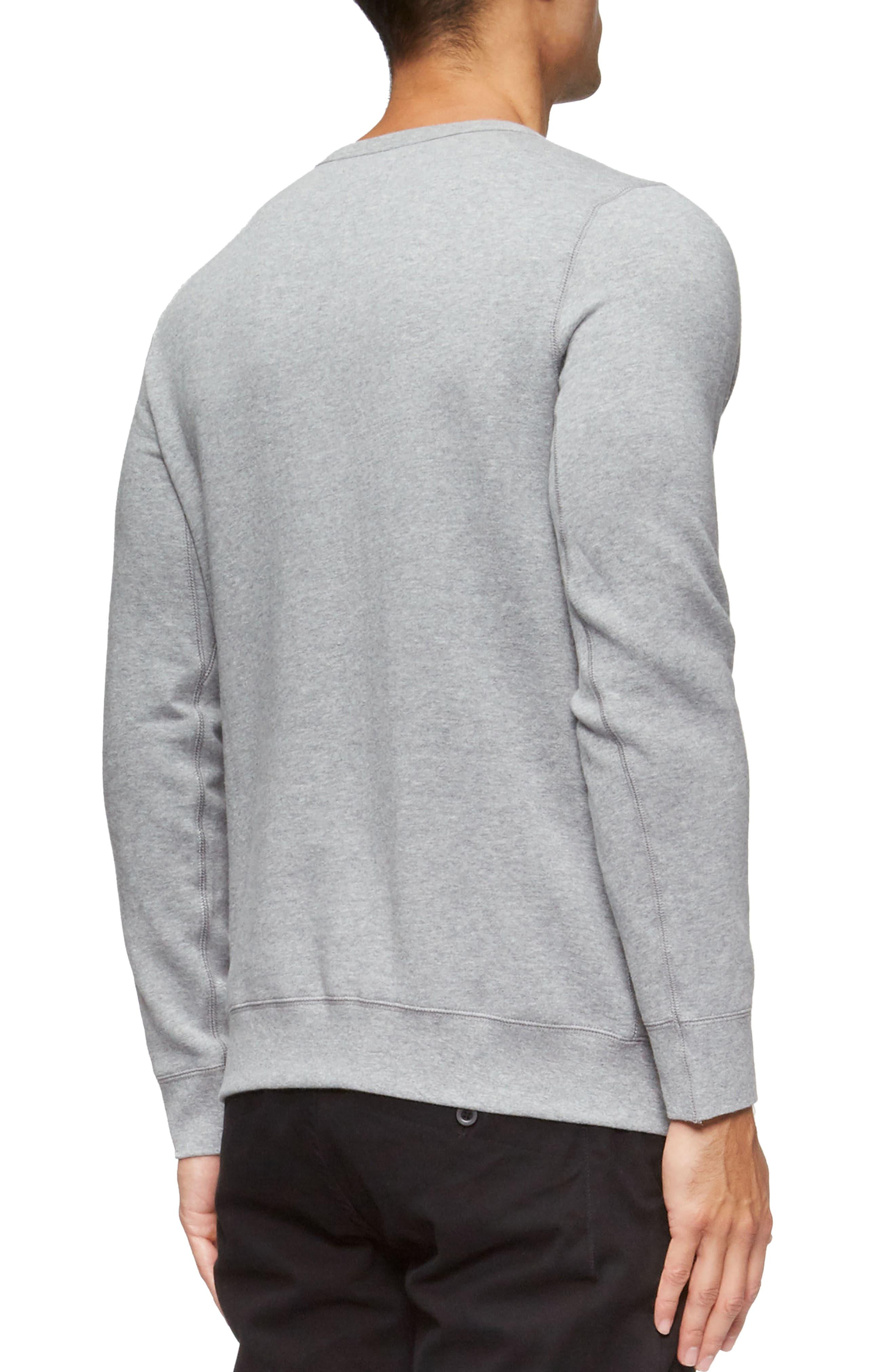 Marina Sweatshirt,                             Alternate thumbnail 2, color,                             Heather Grey