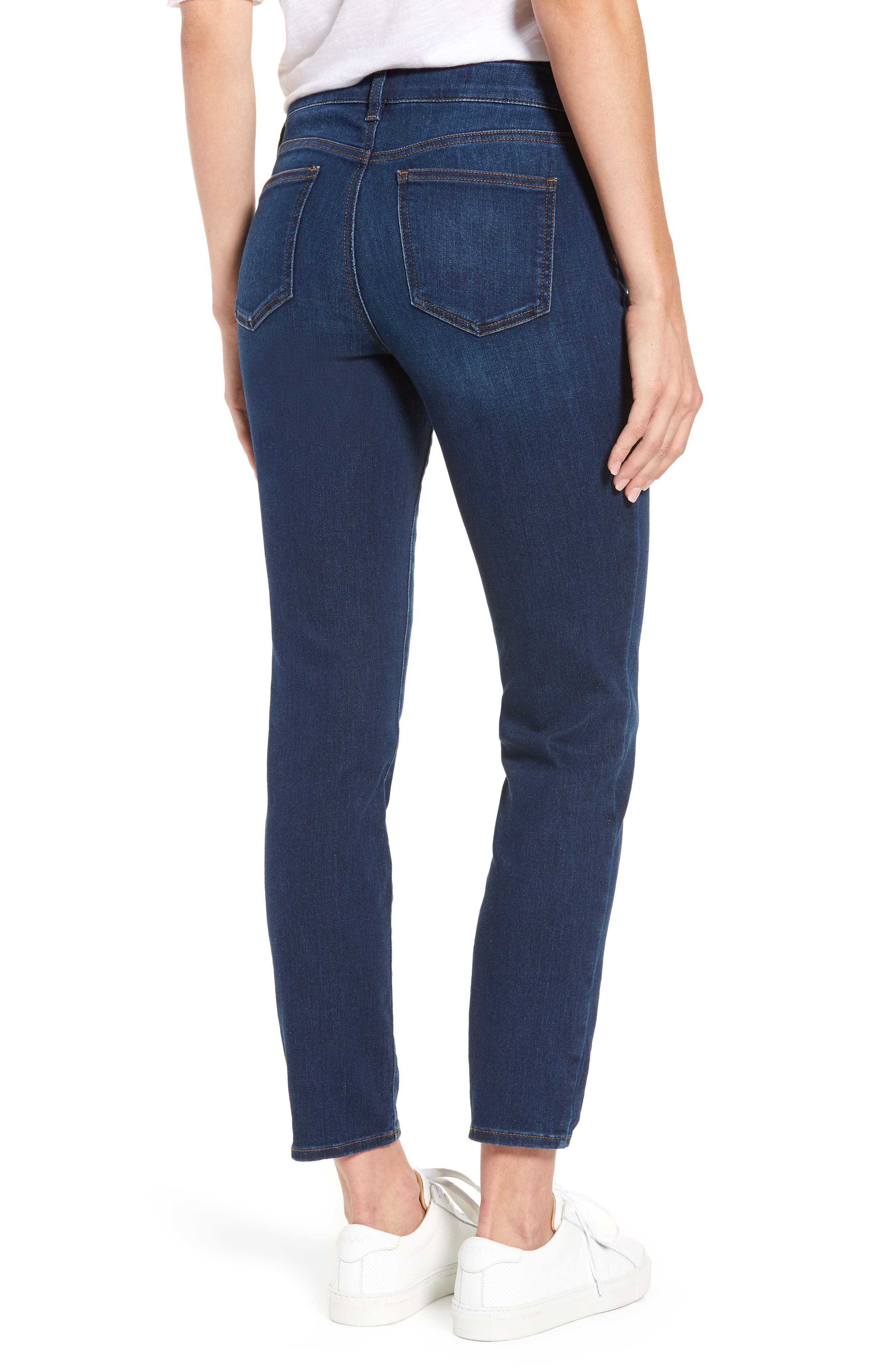 Alina Stretch Skinny Jeans,                             Alternate thumbnail 2, color,                             Cooper