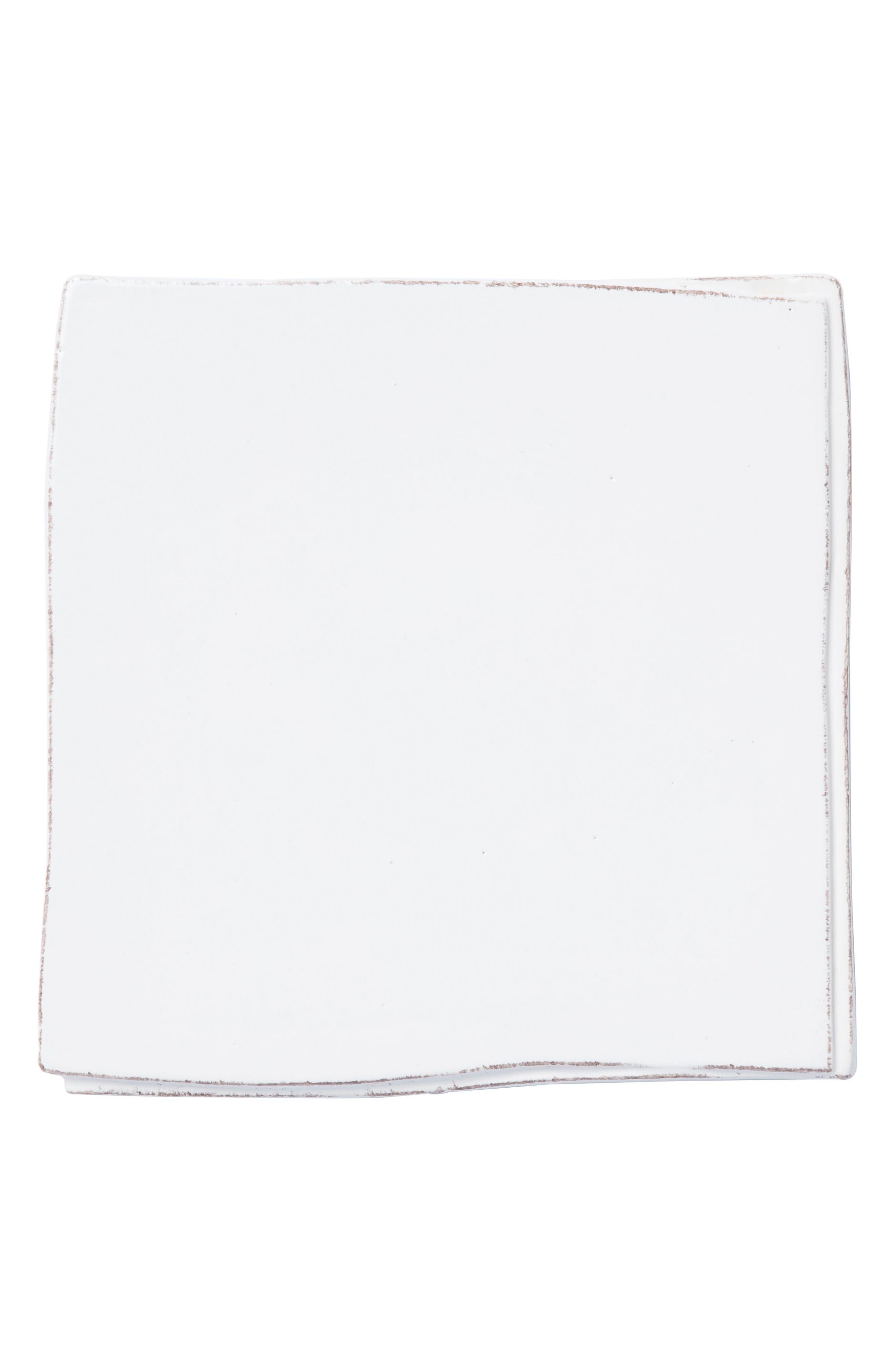 Lastra Stoneware Trivet,                             Main thumbnail 1, color,                             White