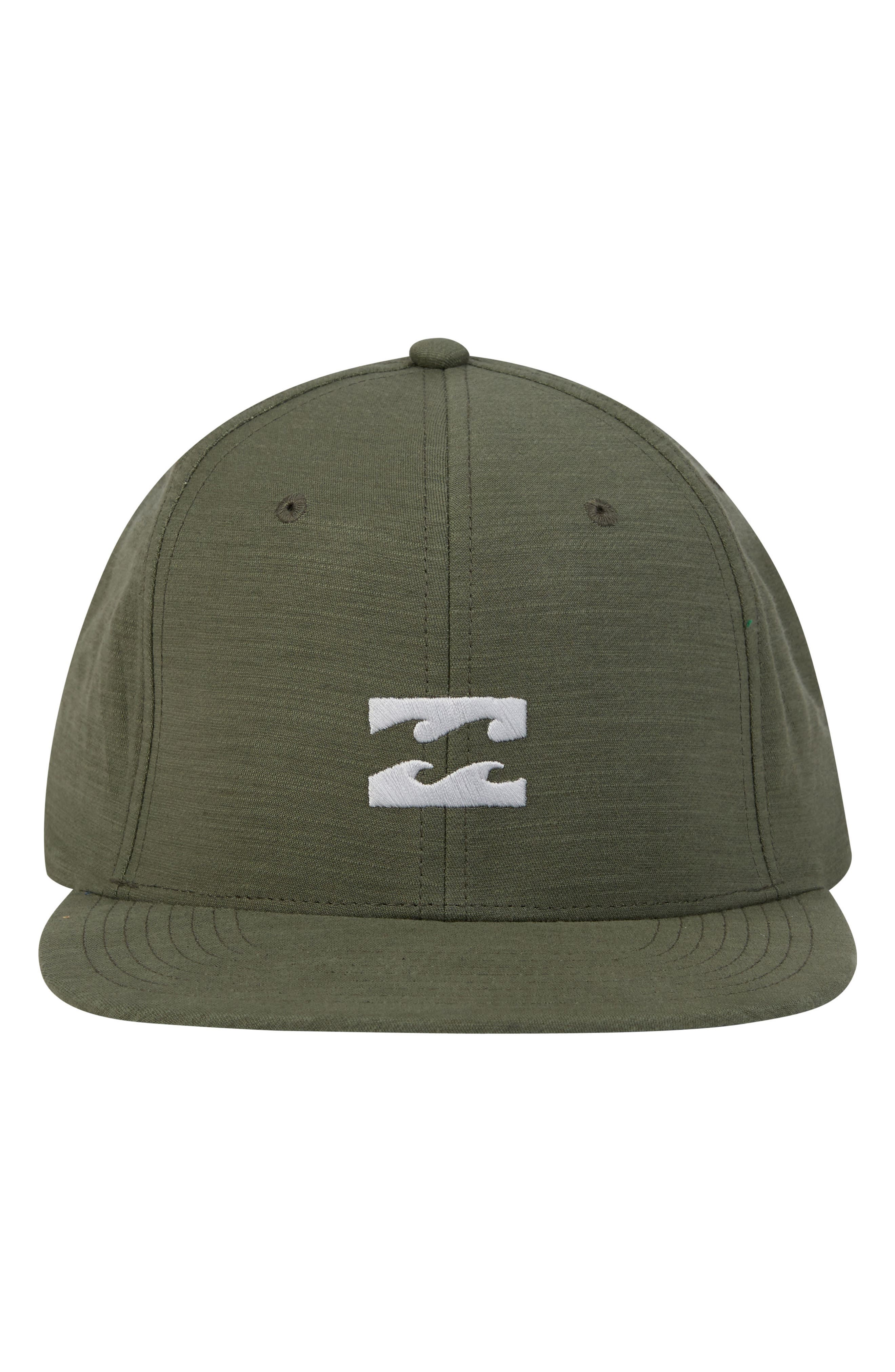 All Day Snapback Cap,                             Alternate thumbnail 3, color,                             Green Heather