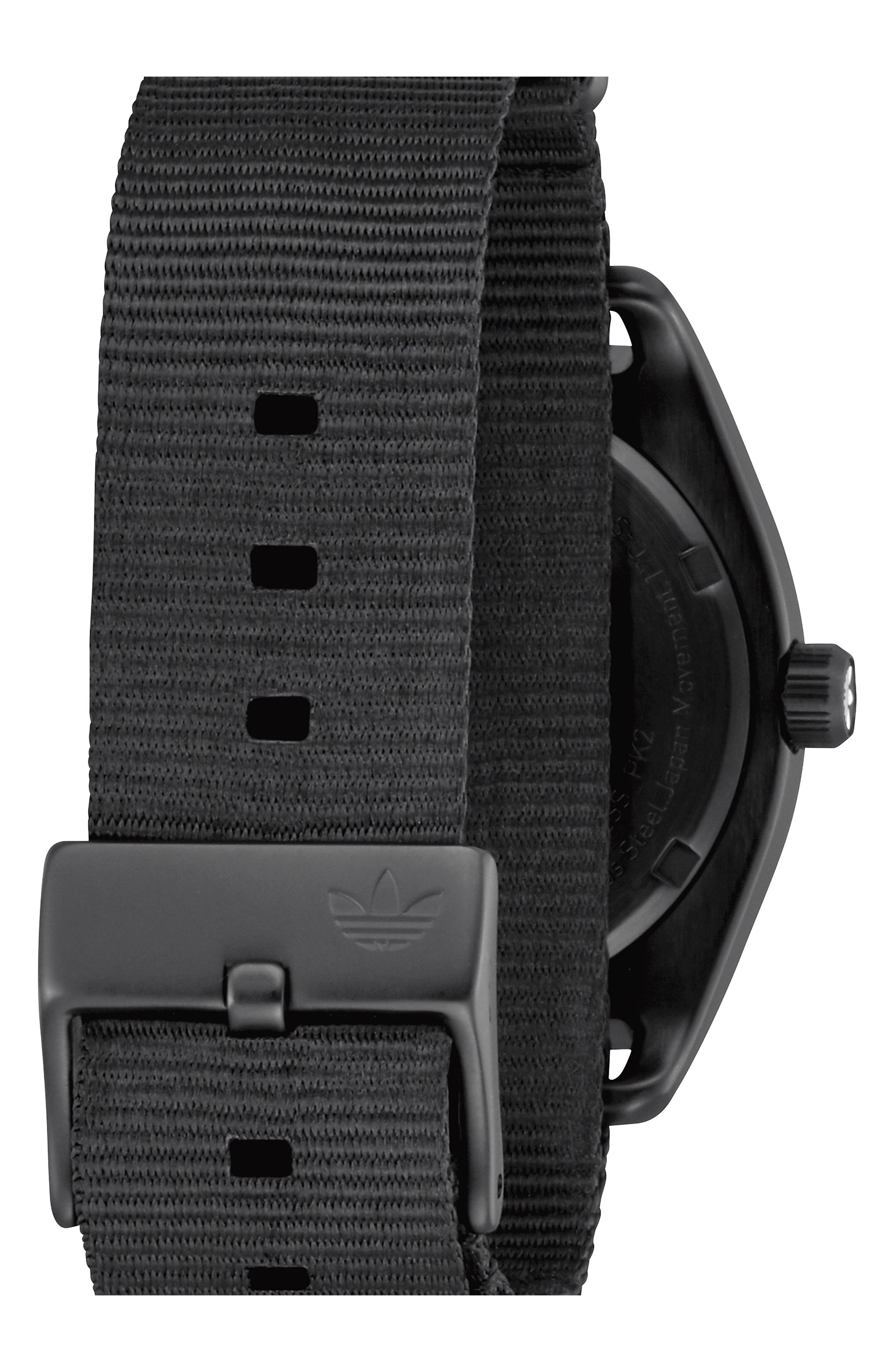 Process NATO Strap Watch, 38mm,                             Alternate thumbnail 2, color,                             Gunmetal/ Black