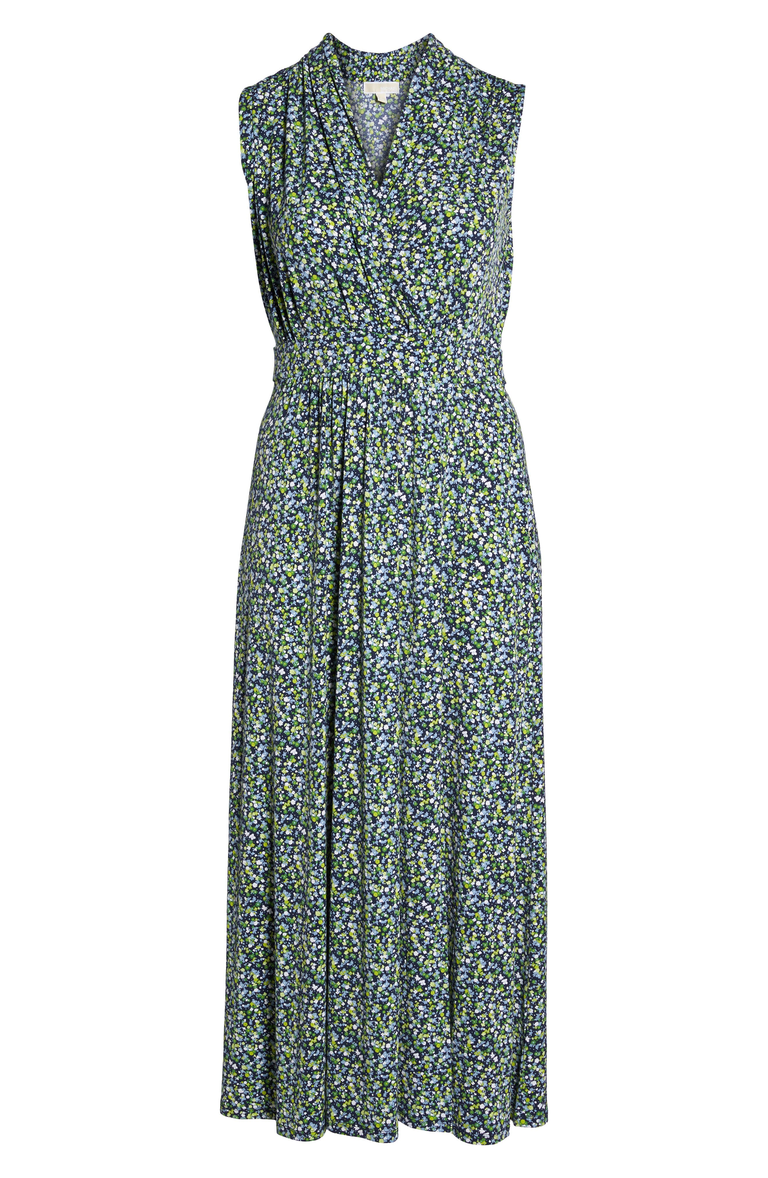 Alternate Image 6  - MICHAEL Michael Kors Wildflowers Maxi Dress (Plus Size)