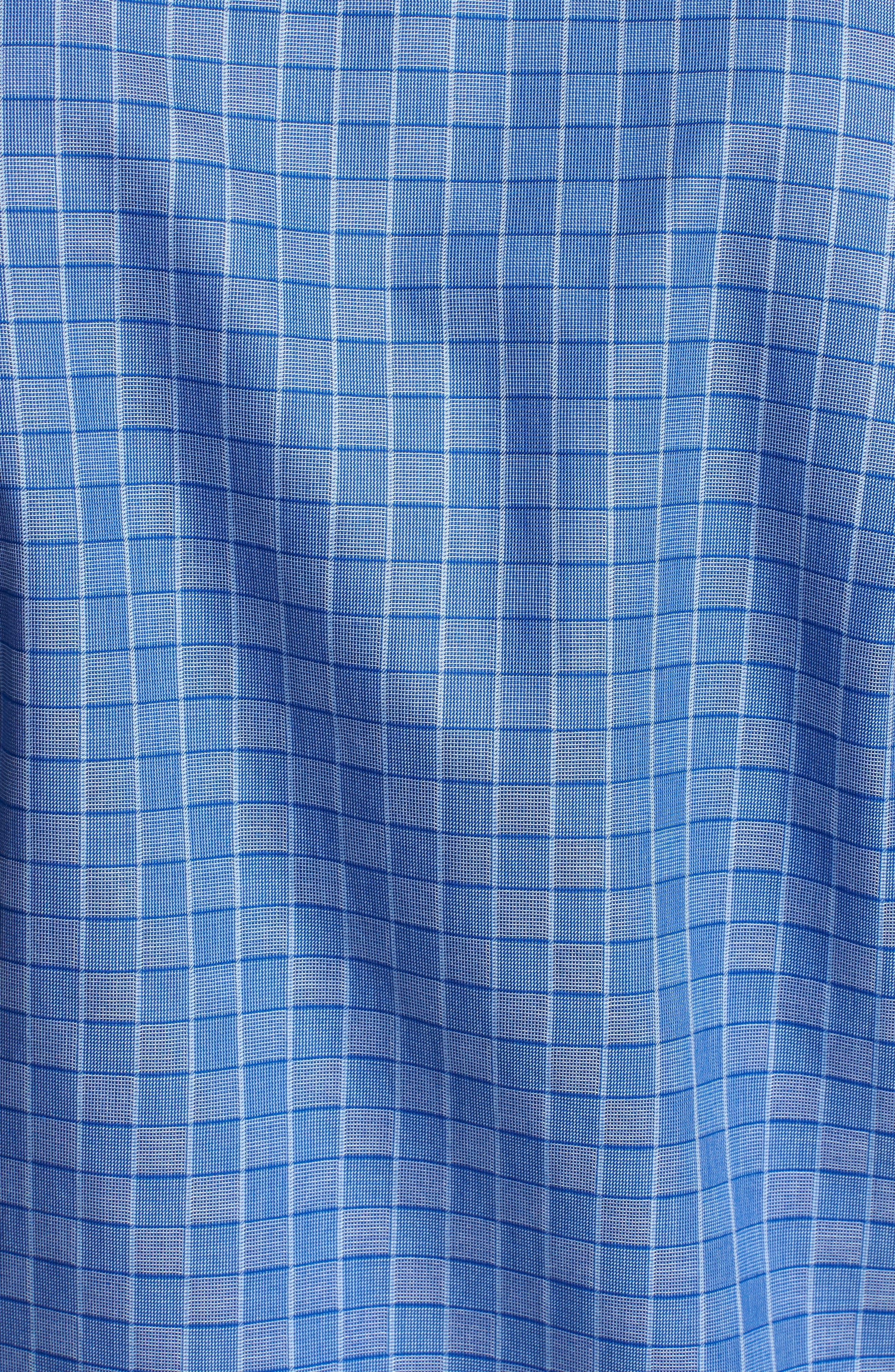 Woven Sport Shirt,                             Alternate thumbnail 5, color,                             Classic Blue