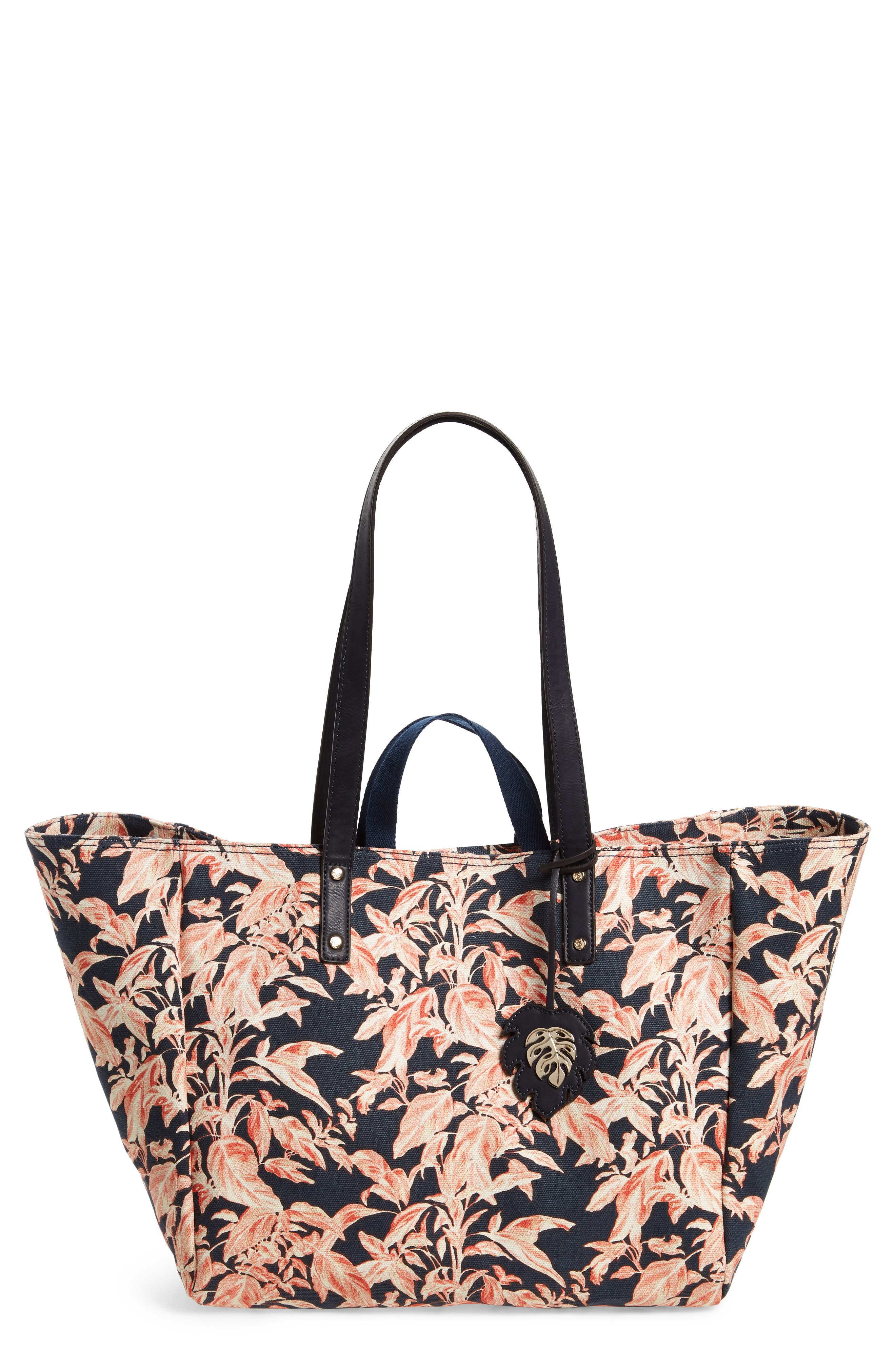 La Plancha Beach Tote,                             Main thumbnail 1, color,                             Navy