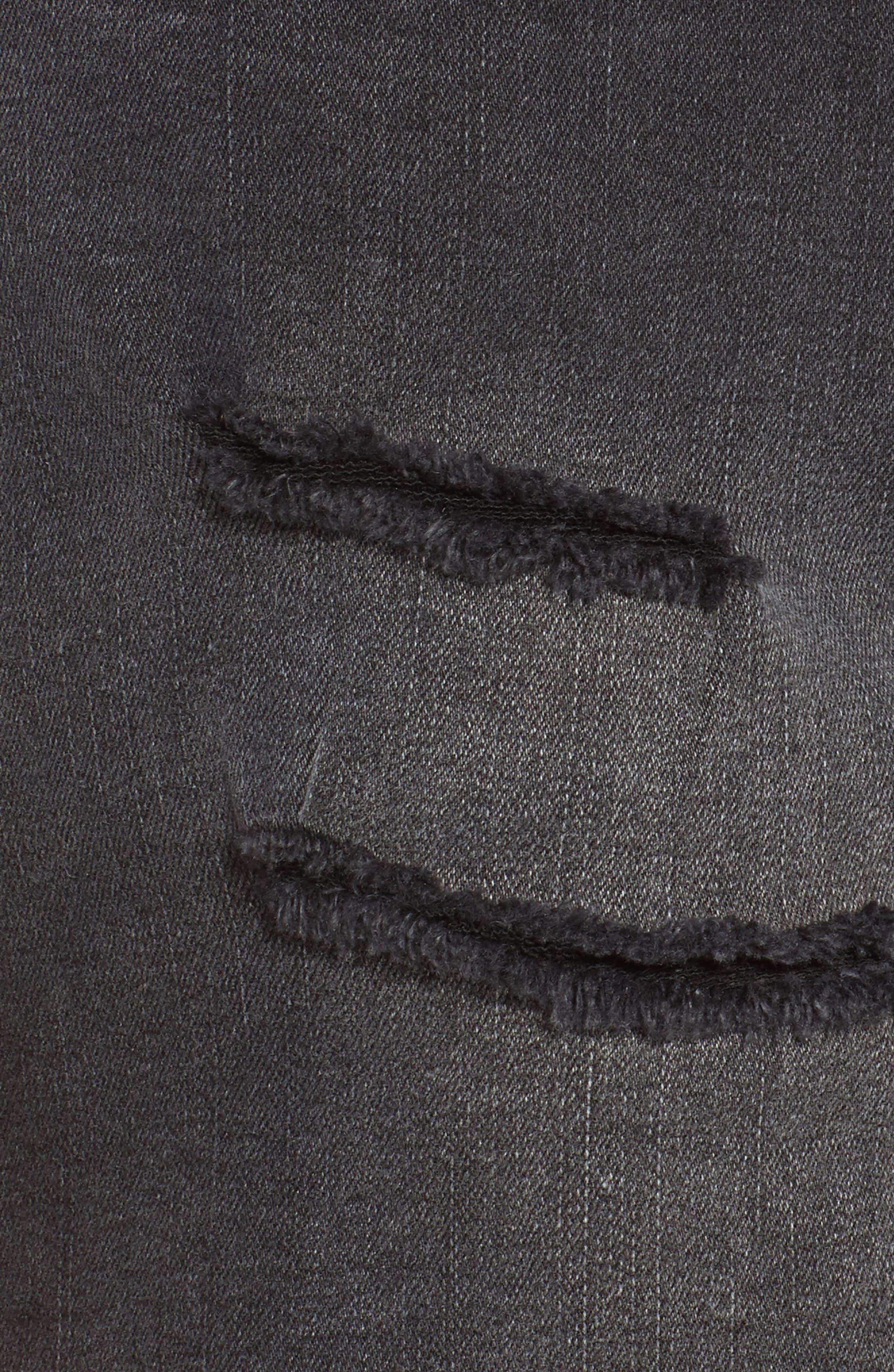 Alternate Image 5  - Vigoss Jagger High Waist Denim Shorts