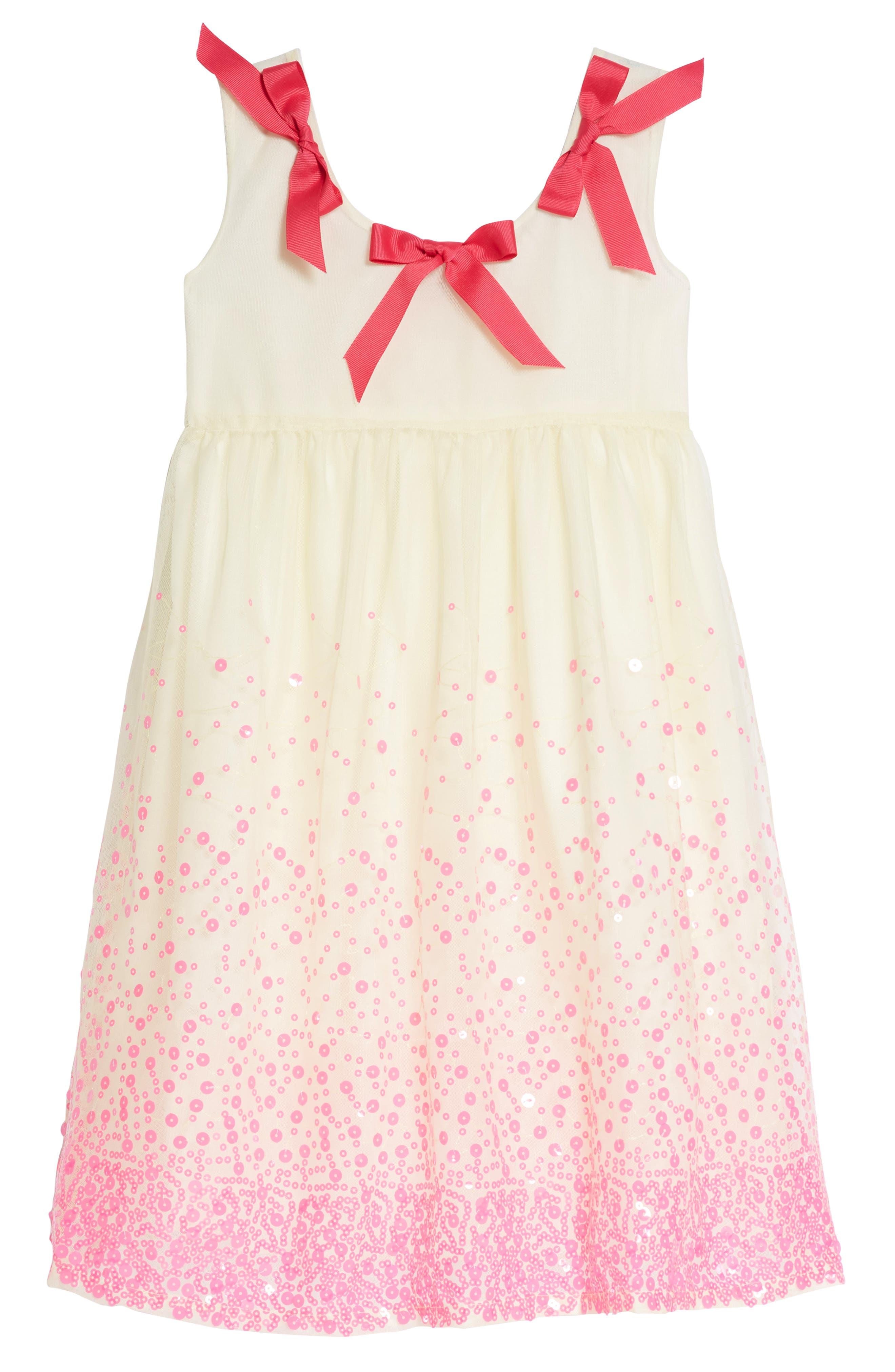 Julie Print Dress,                         Main,                         color, Pink