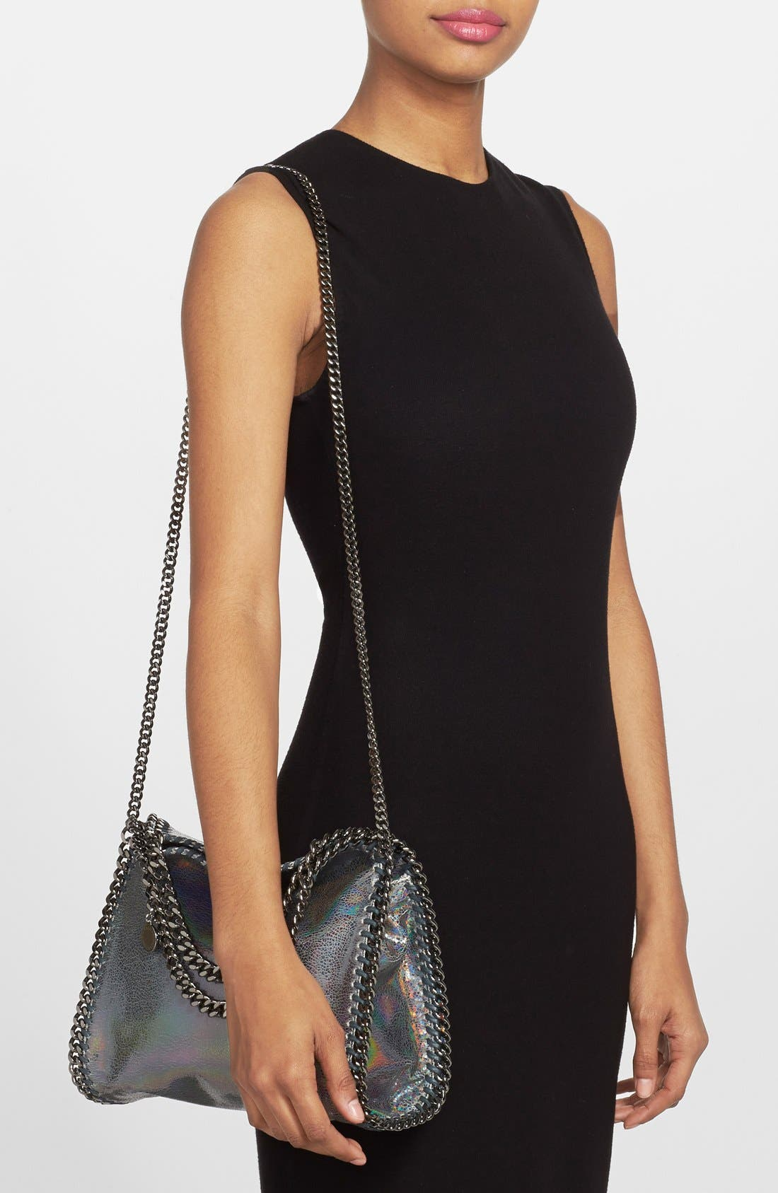 Alternate Image 2  - Stella McCartney 'Mini Hologram Falaballa' Faux Leather Tote