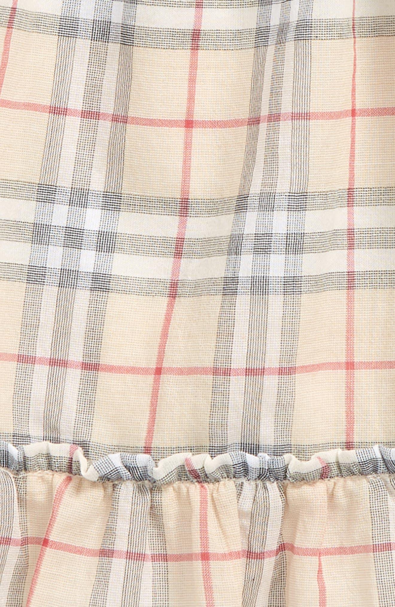 Alternate Image 2  - Burberry Tania Check Dress (Baby Girls)
