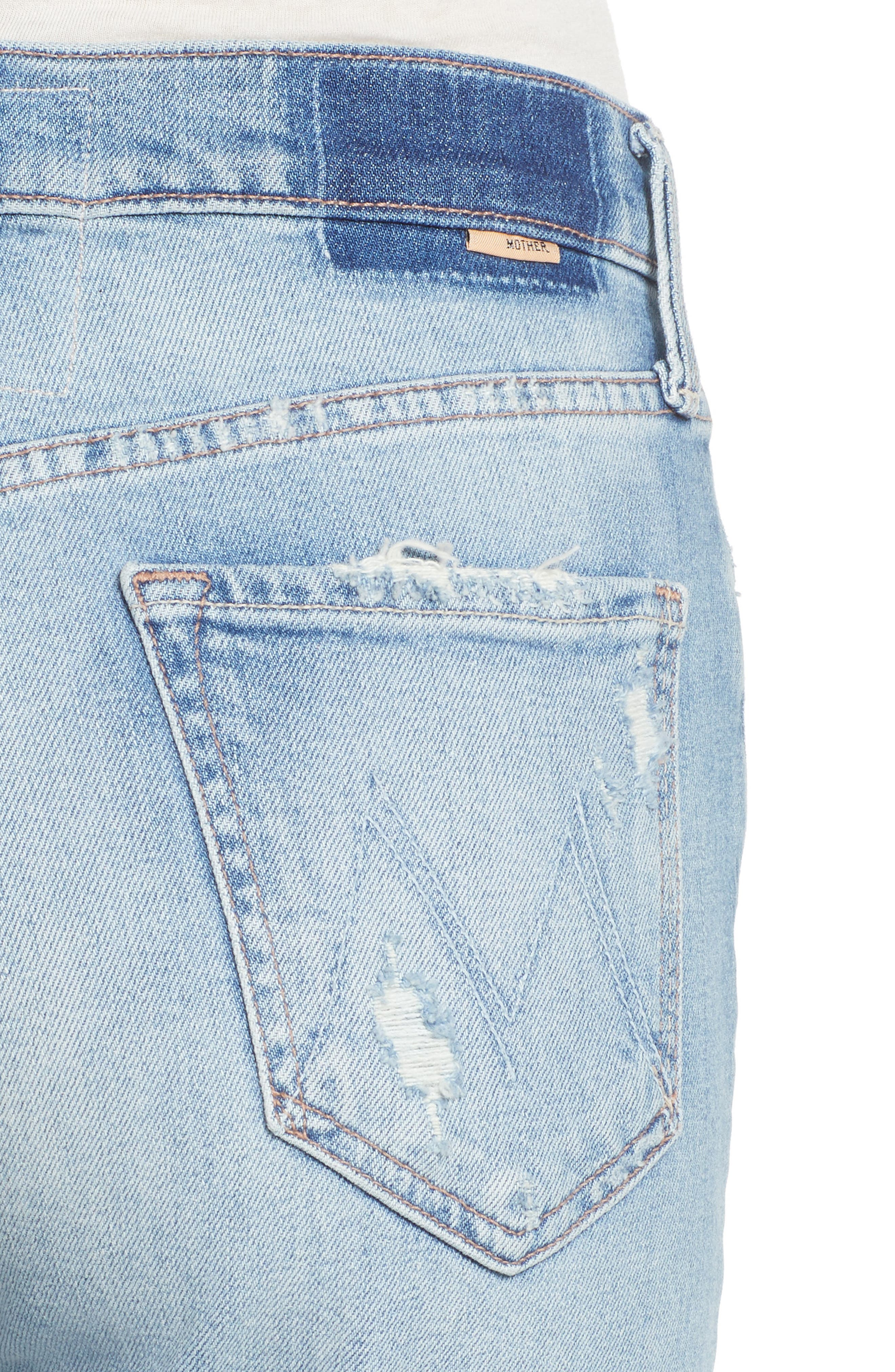 The Tomcat Ankle Straight Leg Jeans,                             Alternate thumbnail 4, color,                             Quite Contrary