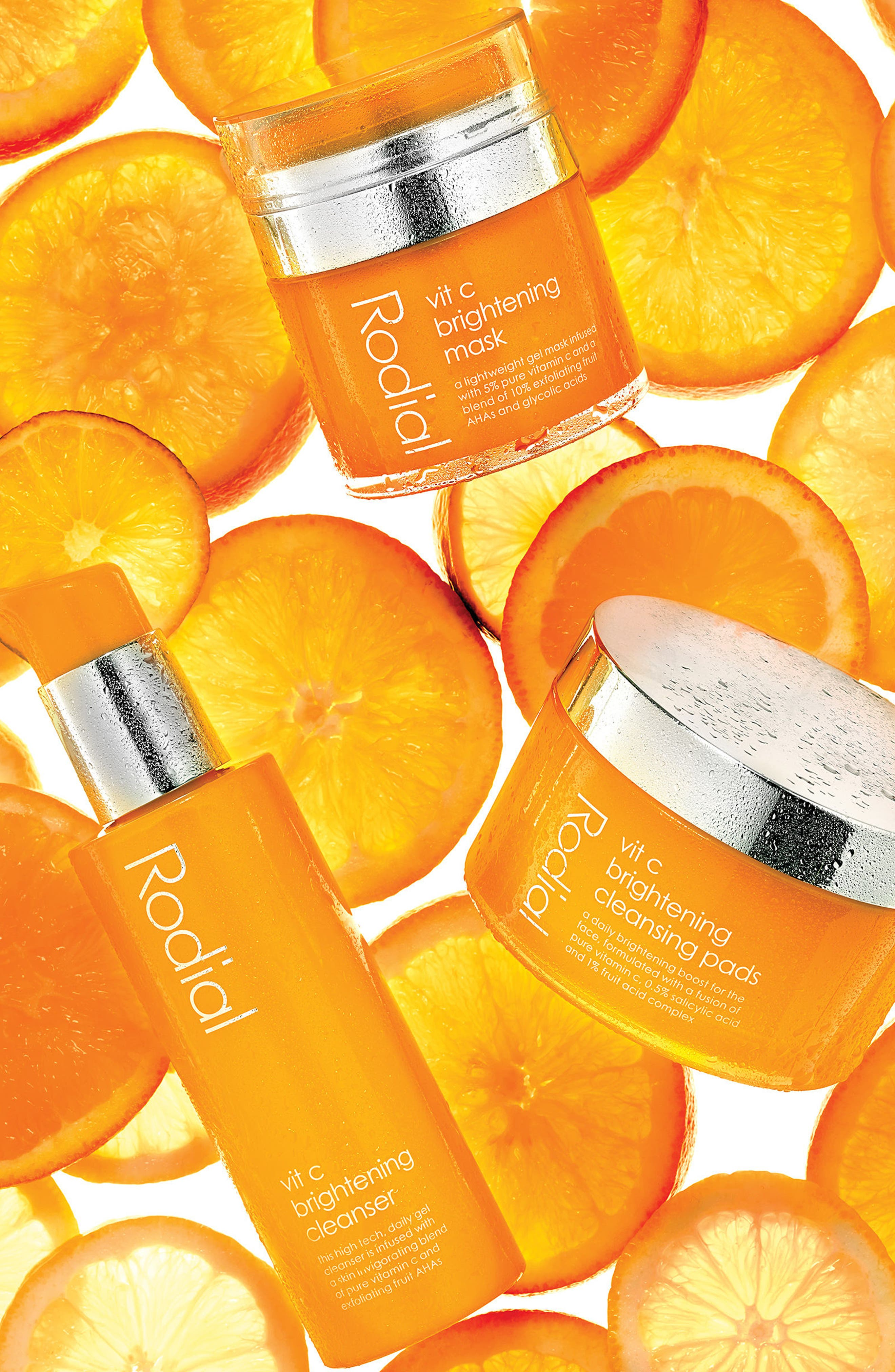 SPACE.NK.apothecary Rodial Vitamin C Brightening Cleanser,                             Alternate thumbnail 3, color,