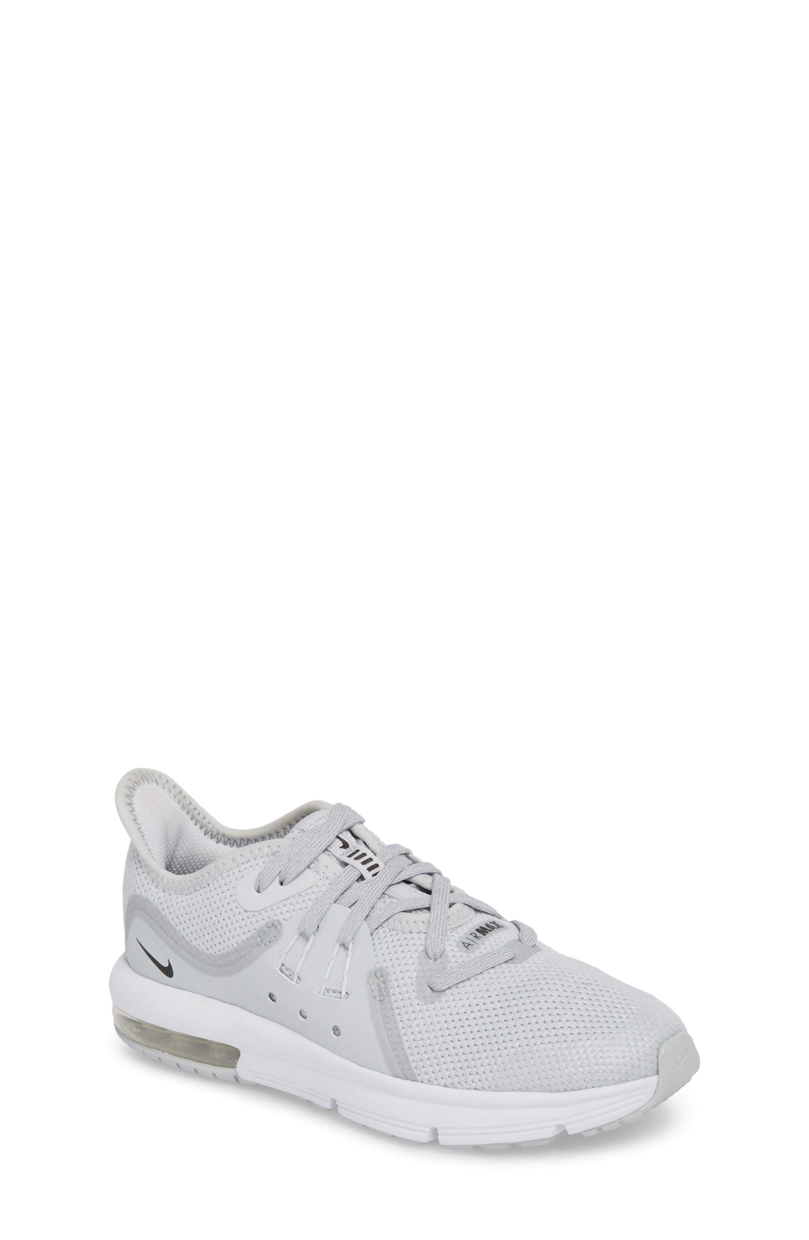 Nike Air Max Sequent 3 GS Running Shoe (Toddler, Little Kid & Big Kid) (Regular Retail Price: $80.00)