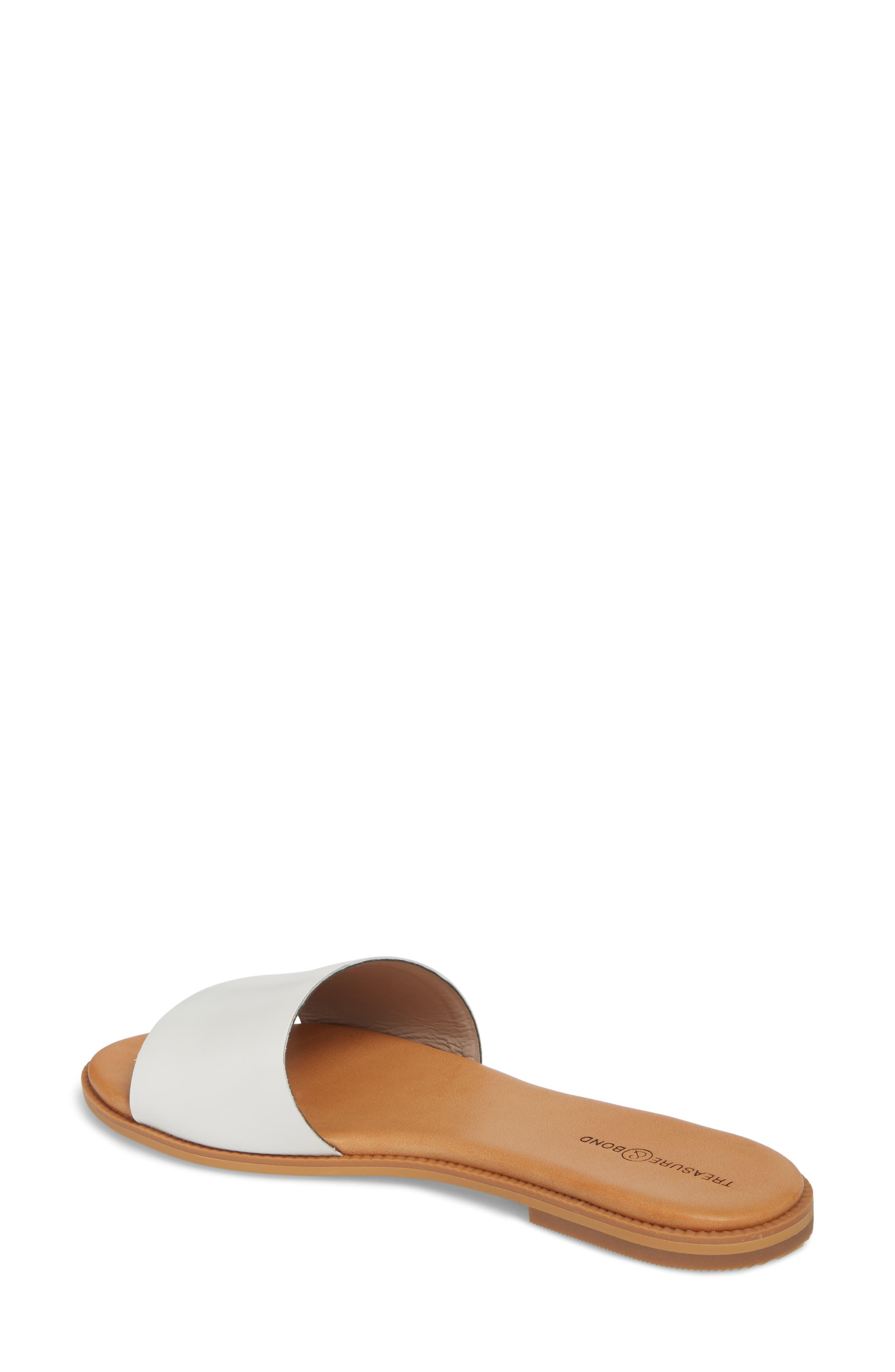 Alternate Image 2  - Treasure & Bond Mere Flat Slide Sandal (Women)
