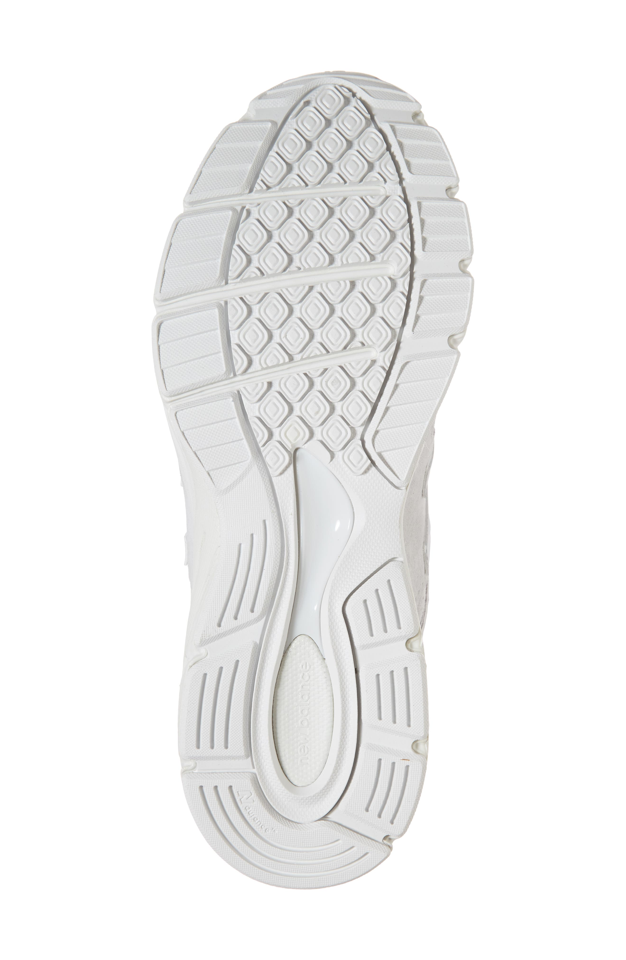 990v4 Perforated Sneaker,                             Alternate thumbnail 6, color,                             Arctic Fox