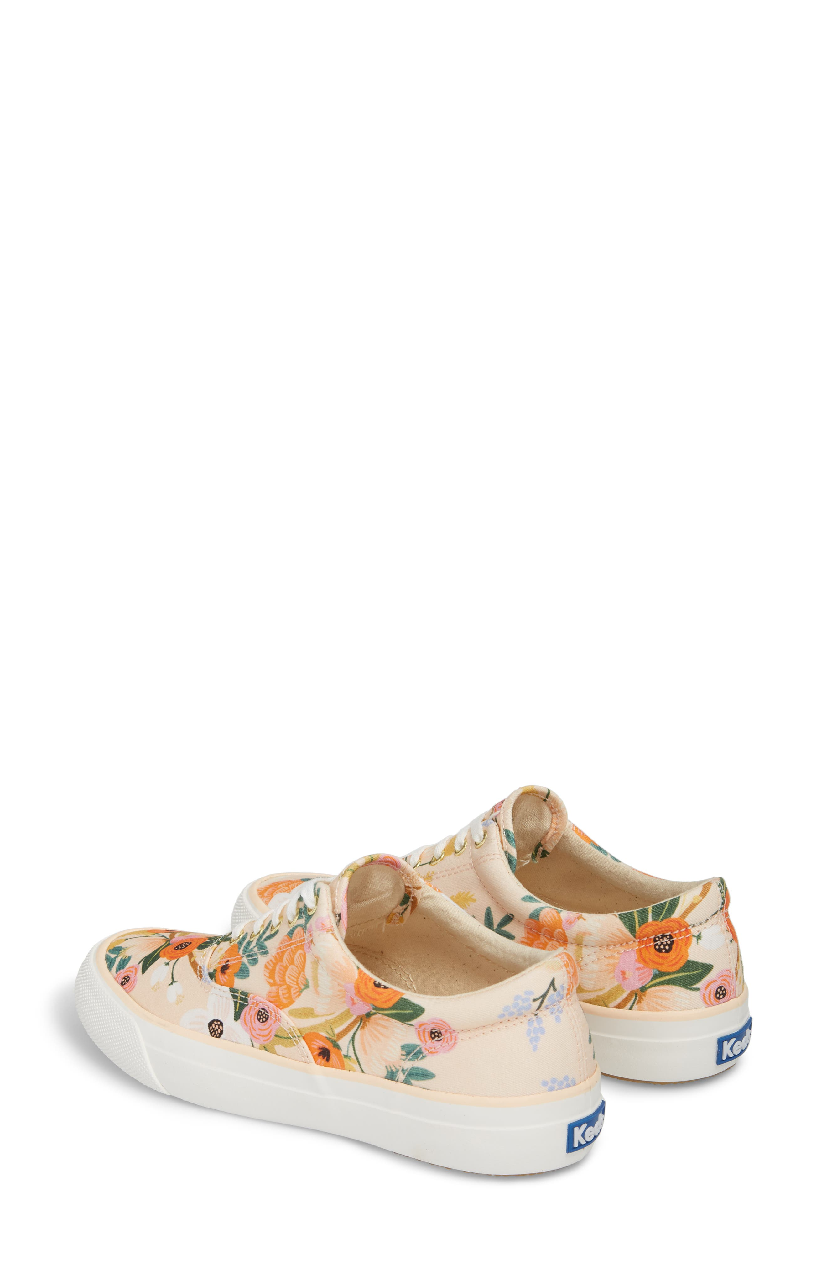 x Rifle Paper Co. Anchor Lively Floral Slip-On Sneaker,                             Alternate thumbnail 2, color,                             Pink
