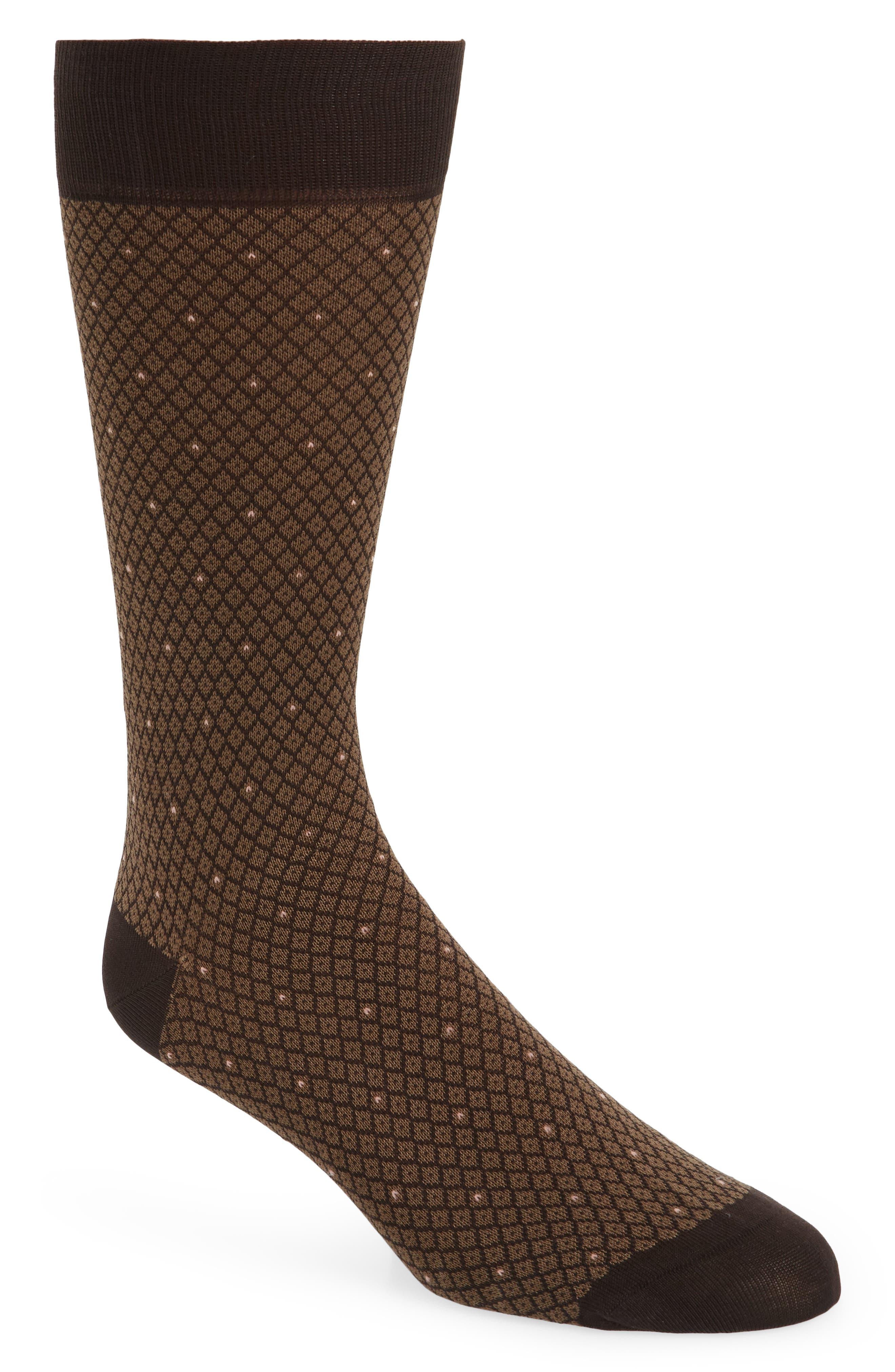 Pantherella Diamond Jacquard Socks