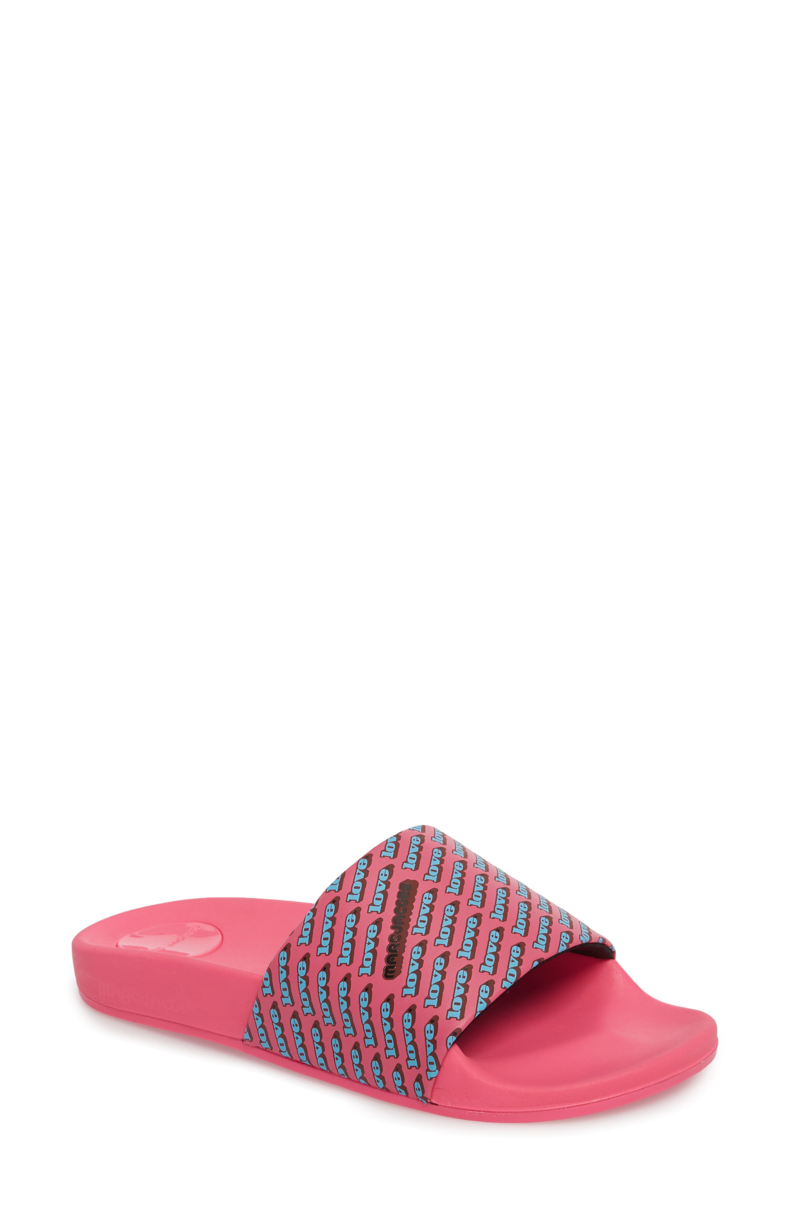 MARC JACOBS Love Slide Sandal (Women)