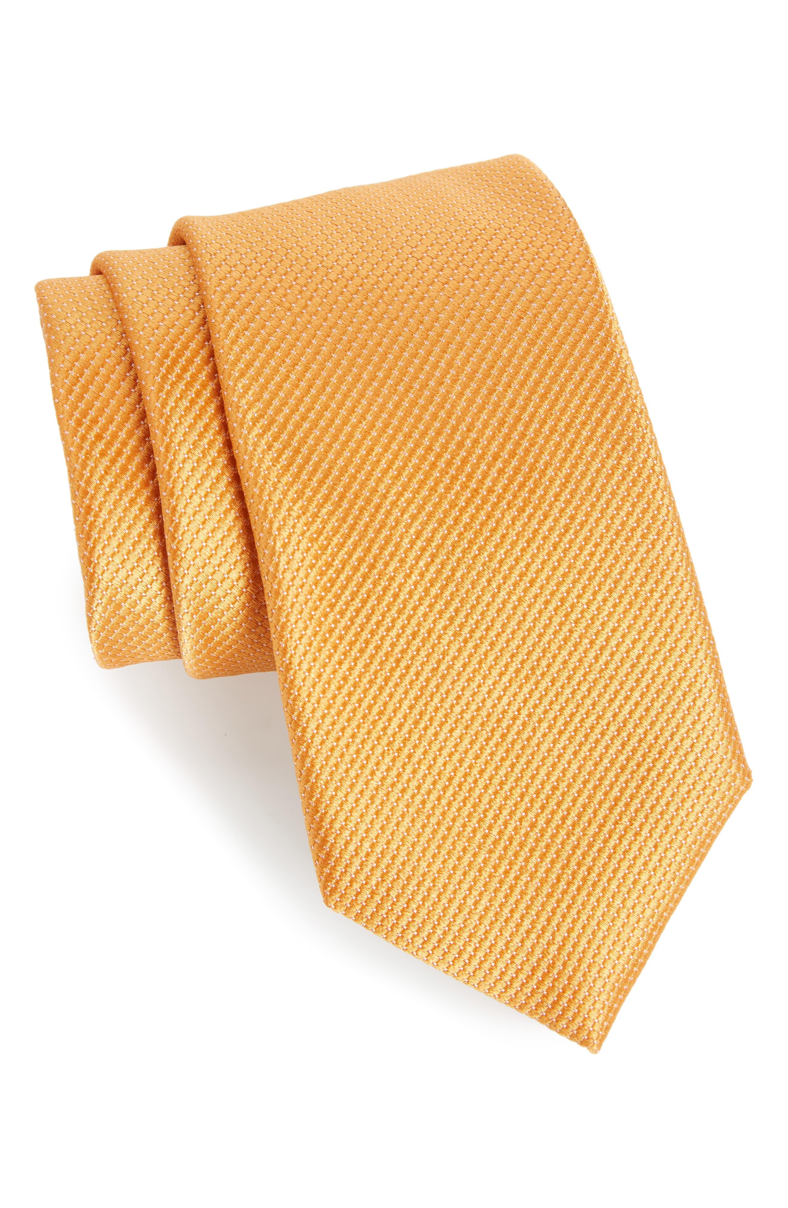 Nordstrom Men's Shop Vendôme Dot Silk Tie