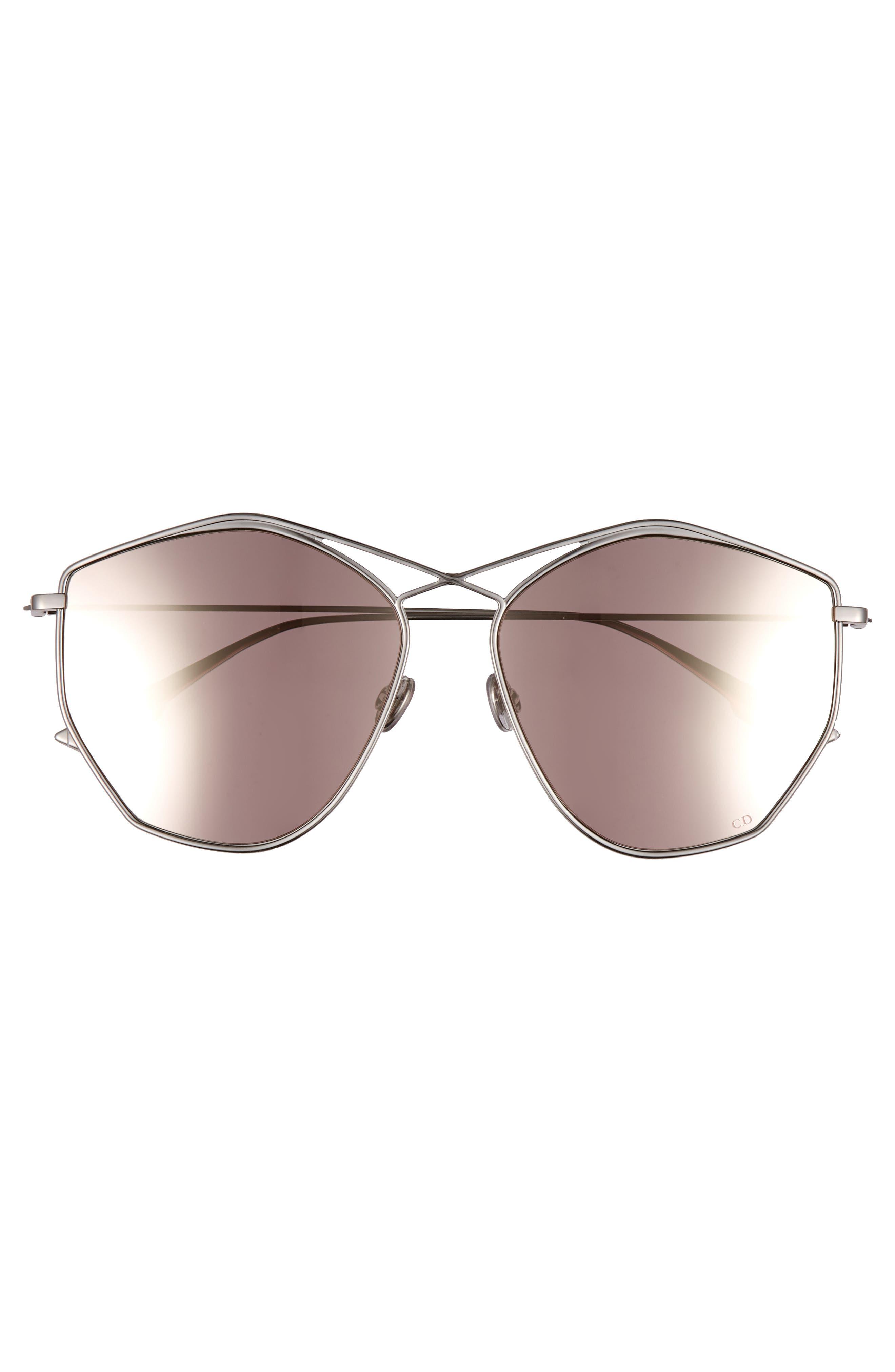 Alternate Image 3  - Dior 59mm Metal Sunglasses
