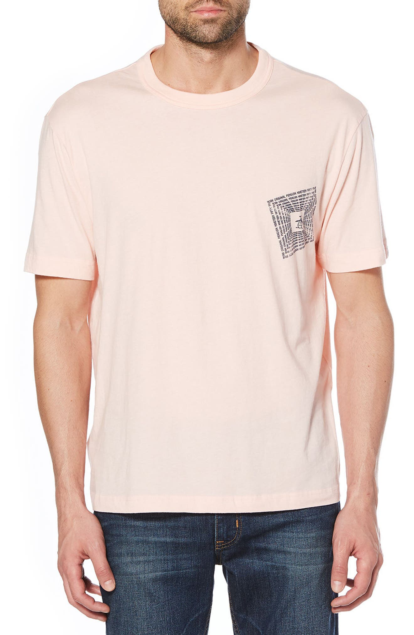 Original Penguin Optical Graphic T-Shirt
