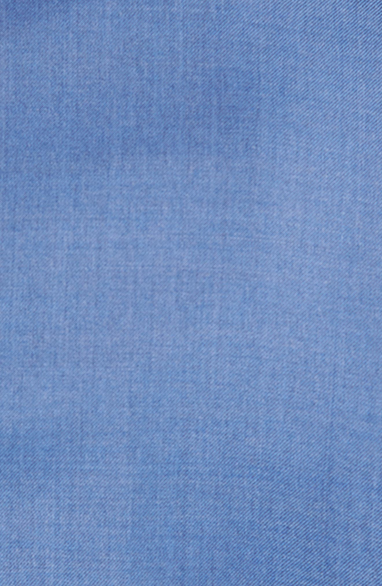 Classic B Fit Solid Wool Suit,                             Alternate thumbnail 7, color,                             Light Blue Solid