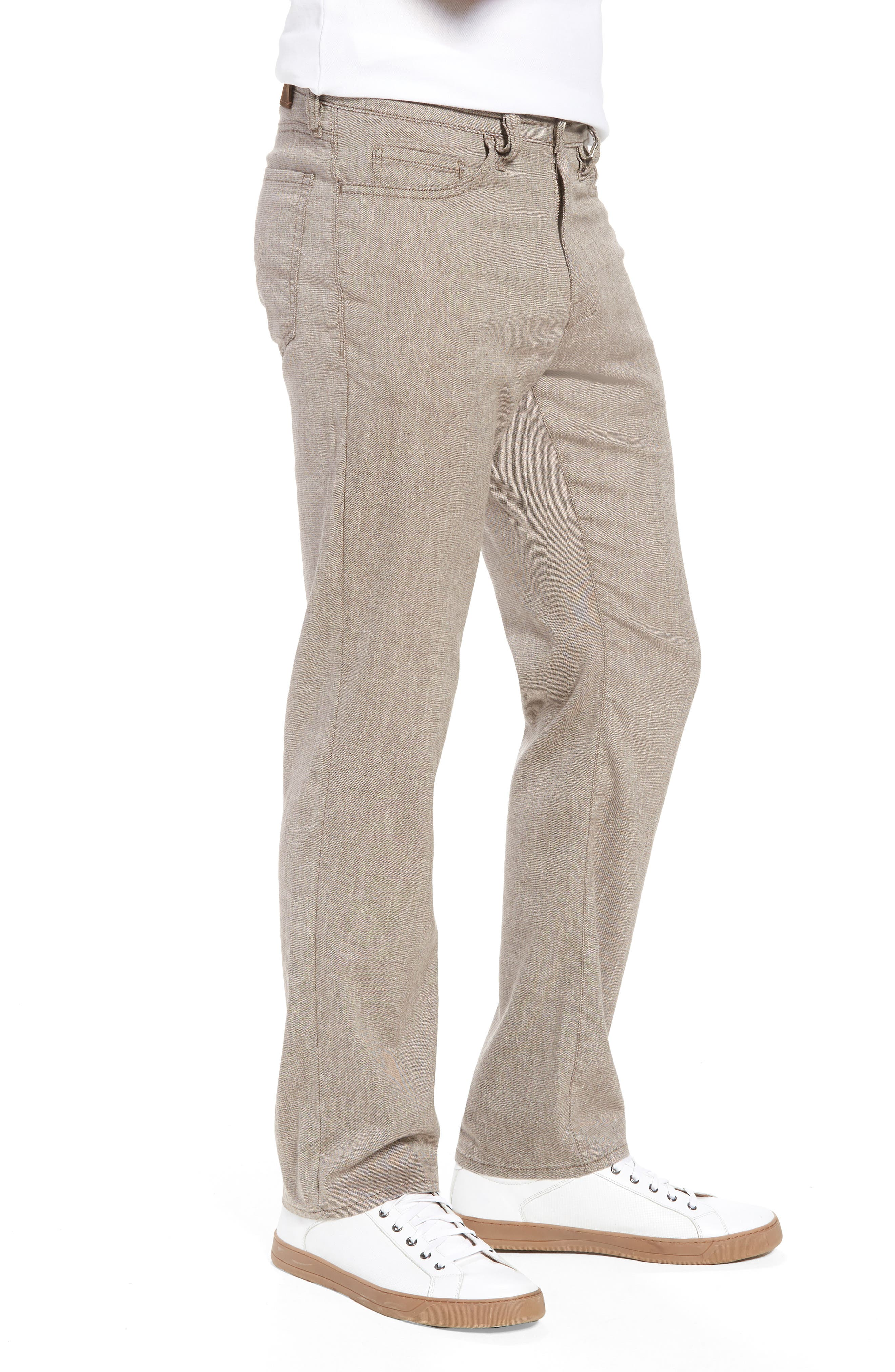 Charisma Relaxed Fit Pants,                             Alternate thumbnail 3, color,                             Latte Textured