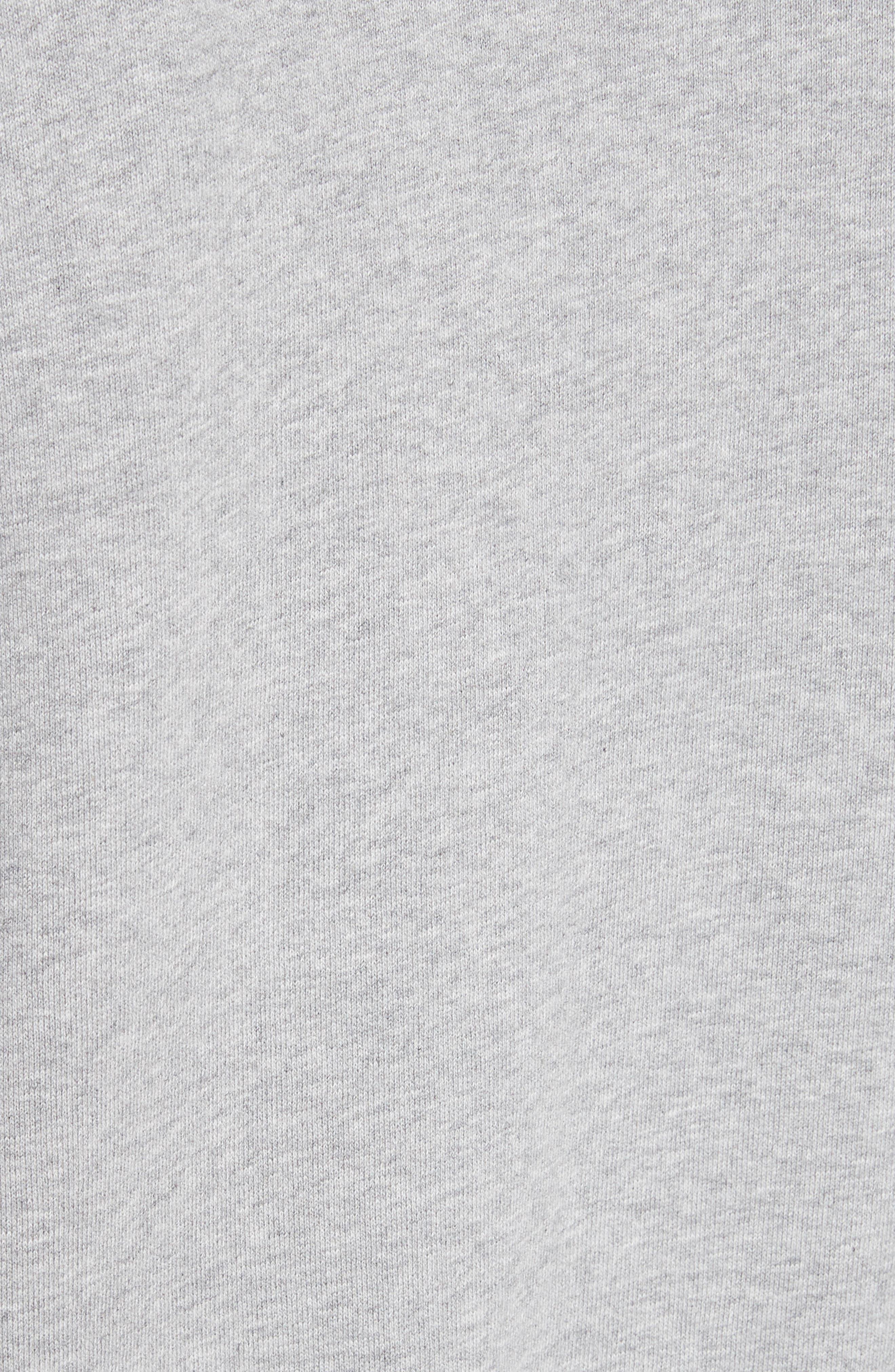 Alternate Image 5  - Off-White Tape Crop Zip Hoodie