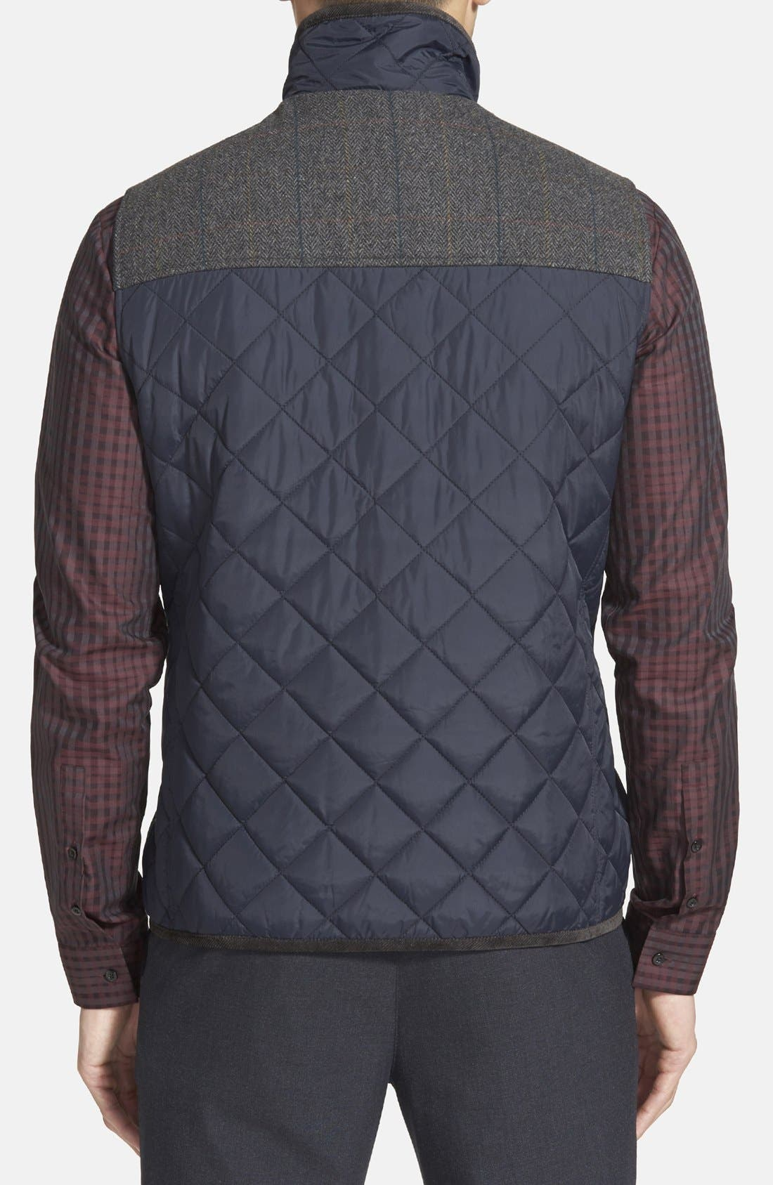 Alternate Image 2  - Vince Camuto Quilted Vest
