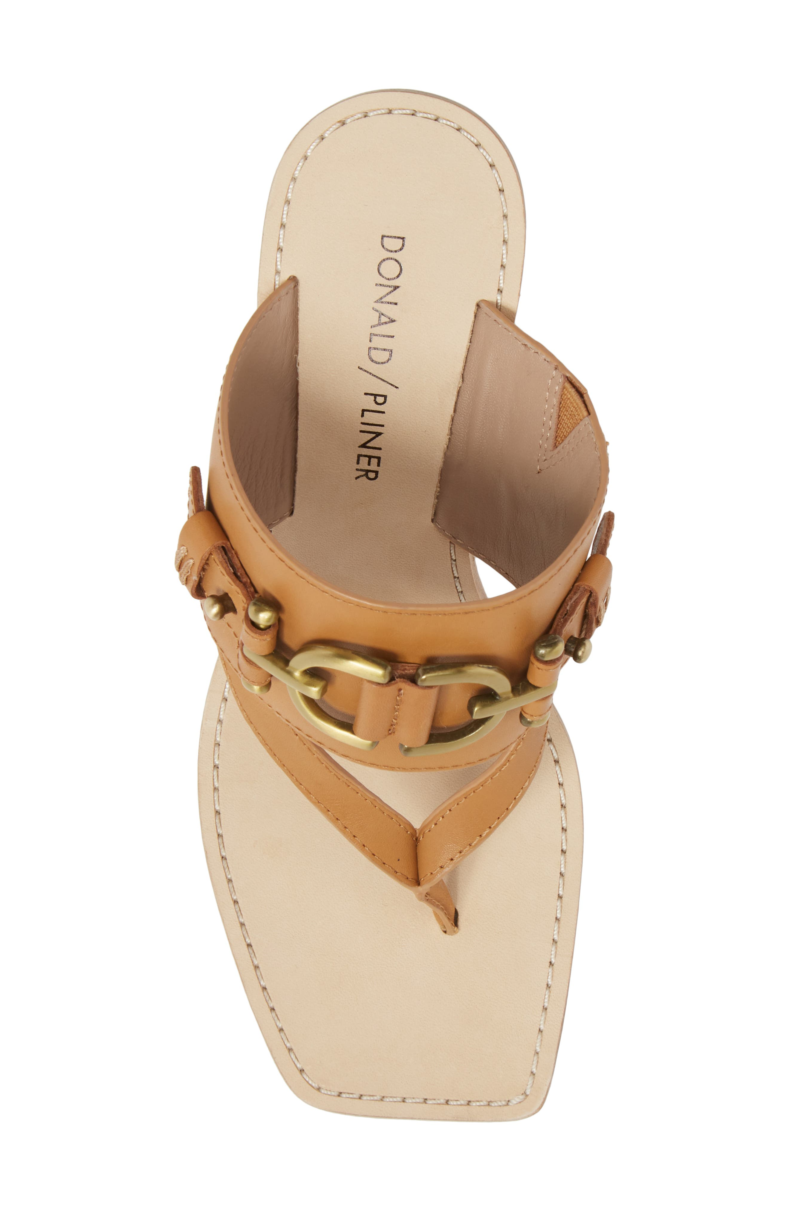 Mimi Mule,                             Alternate thumbnail 5, color,                             Fawn Leather