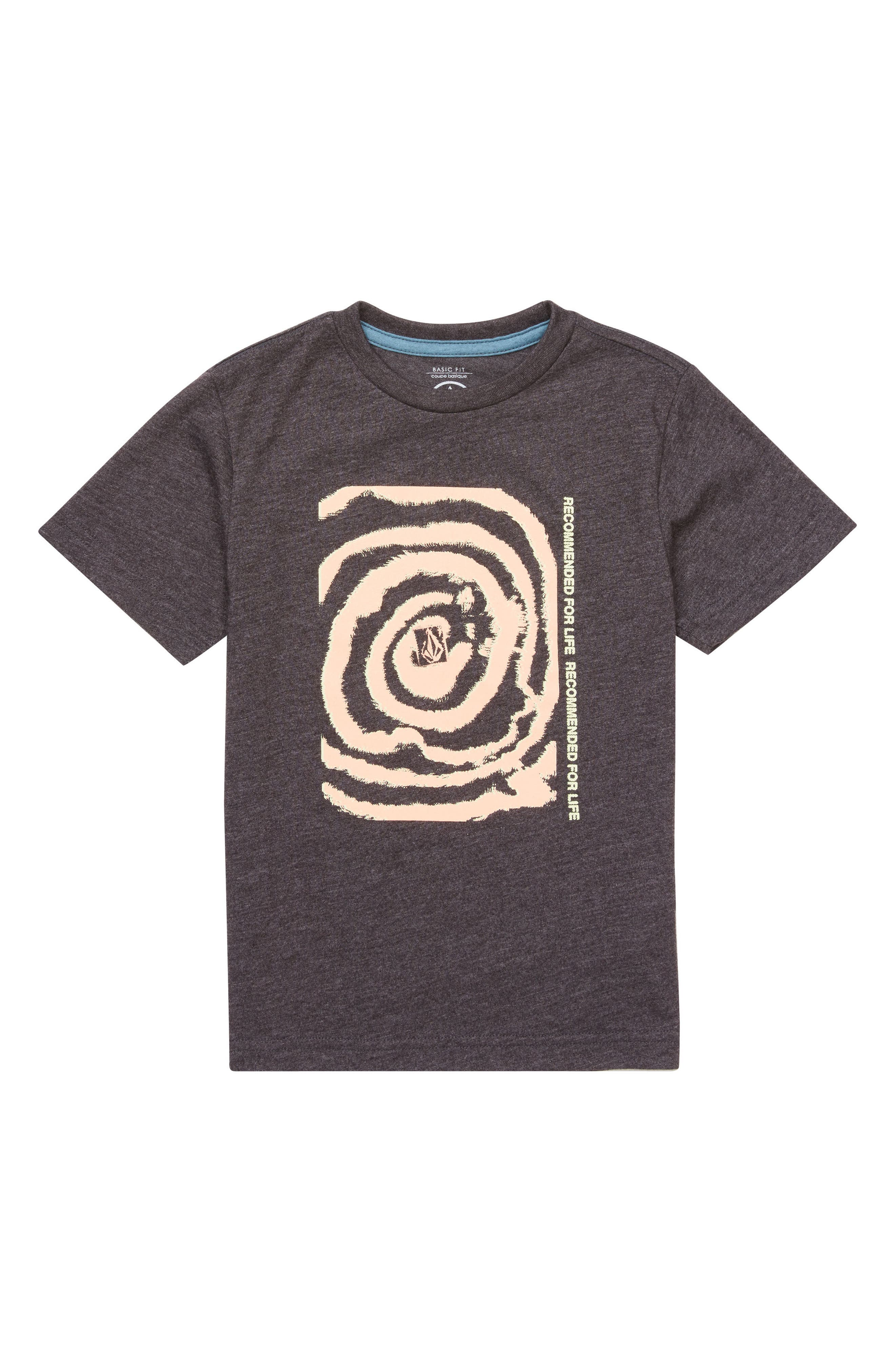 Maag Graphic T-Shirt,                         Main,                         color, Heather Black