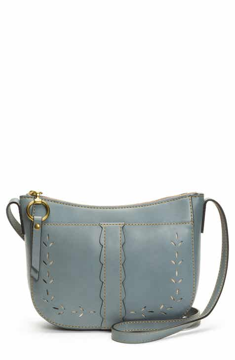 Frye Ilana Peforated Leather Crossbody Bag