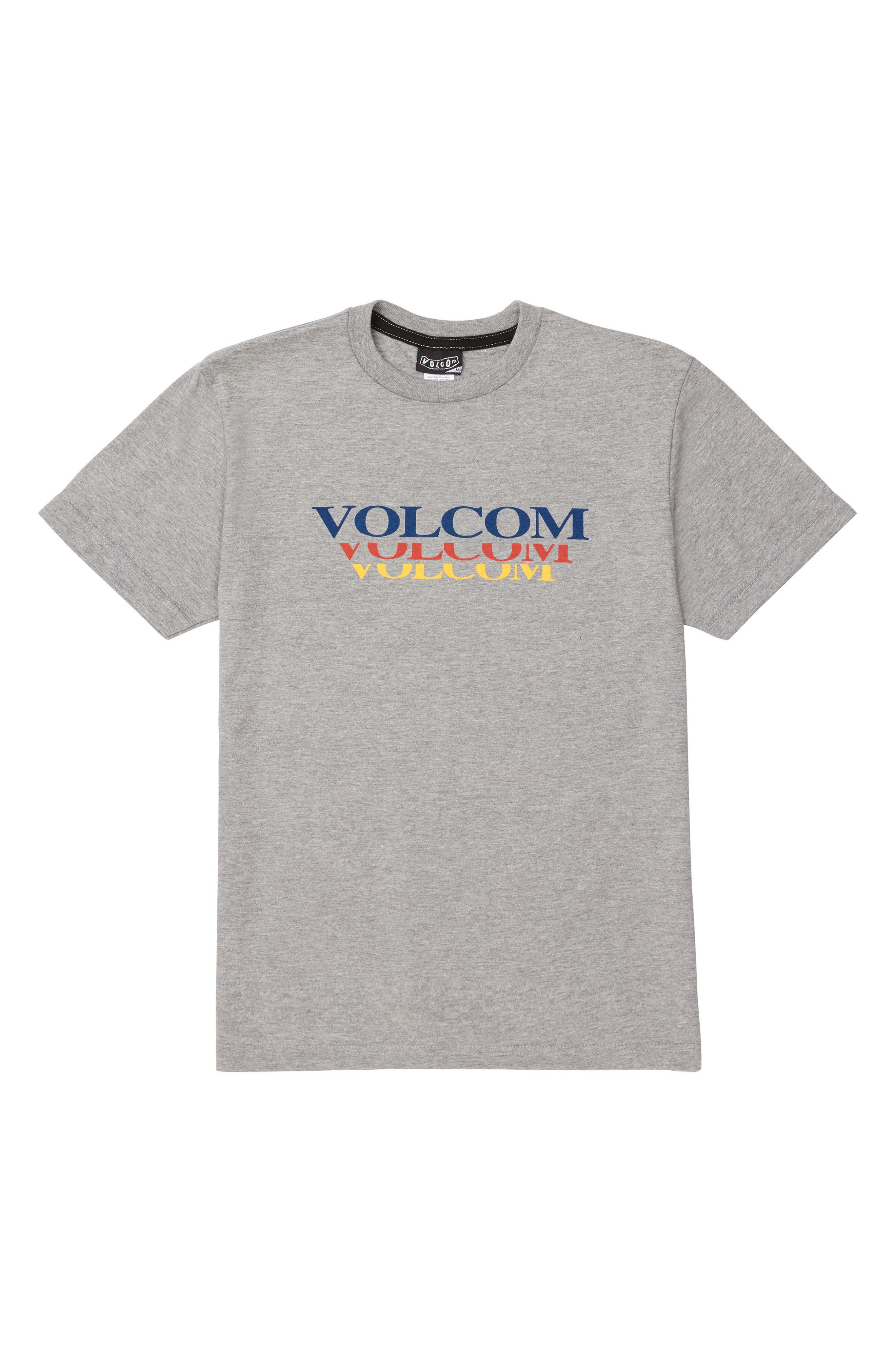 Count Down Graphic T-Shirt,                         Main,                         color, Heather Grey