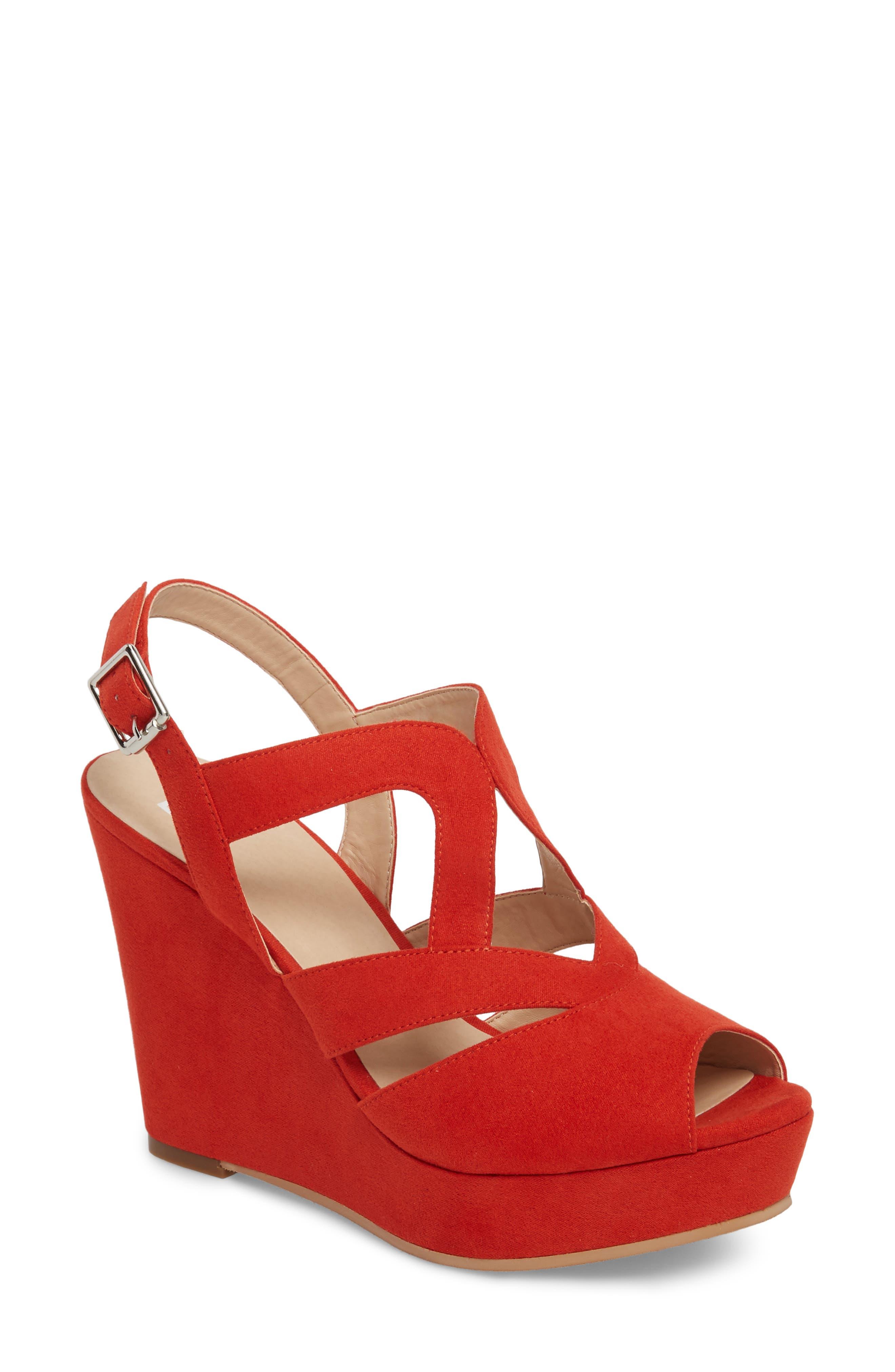 BP. Sunny Platform Wedge Sandal (Women)