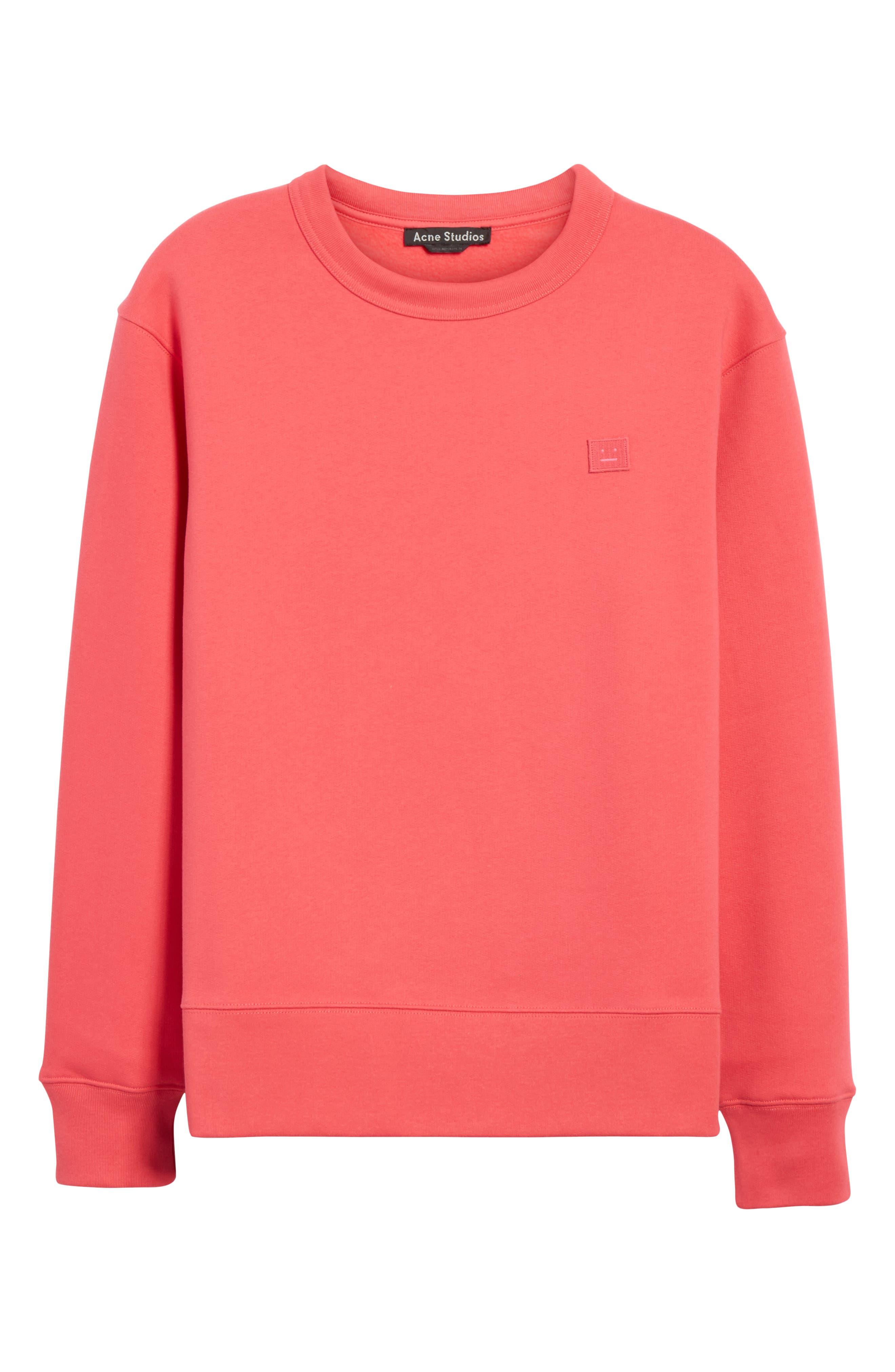 Fairview Crewneck Sweatshirt,                             Alternate thumbnail 7, color,                             Neon Pink
