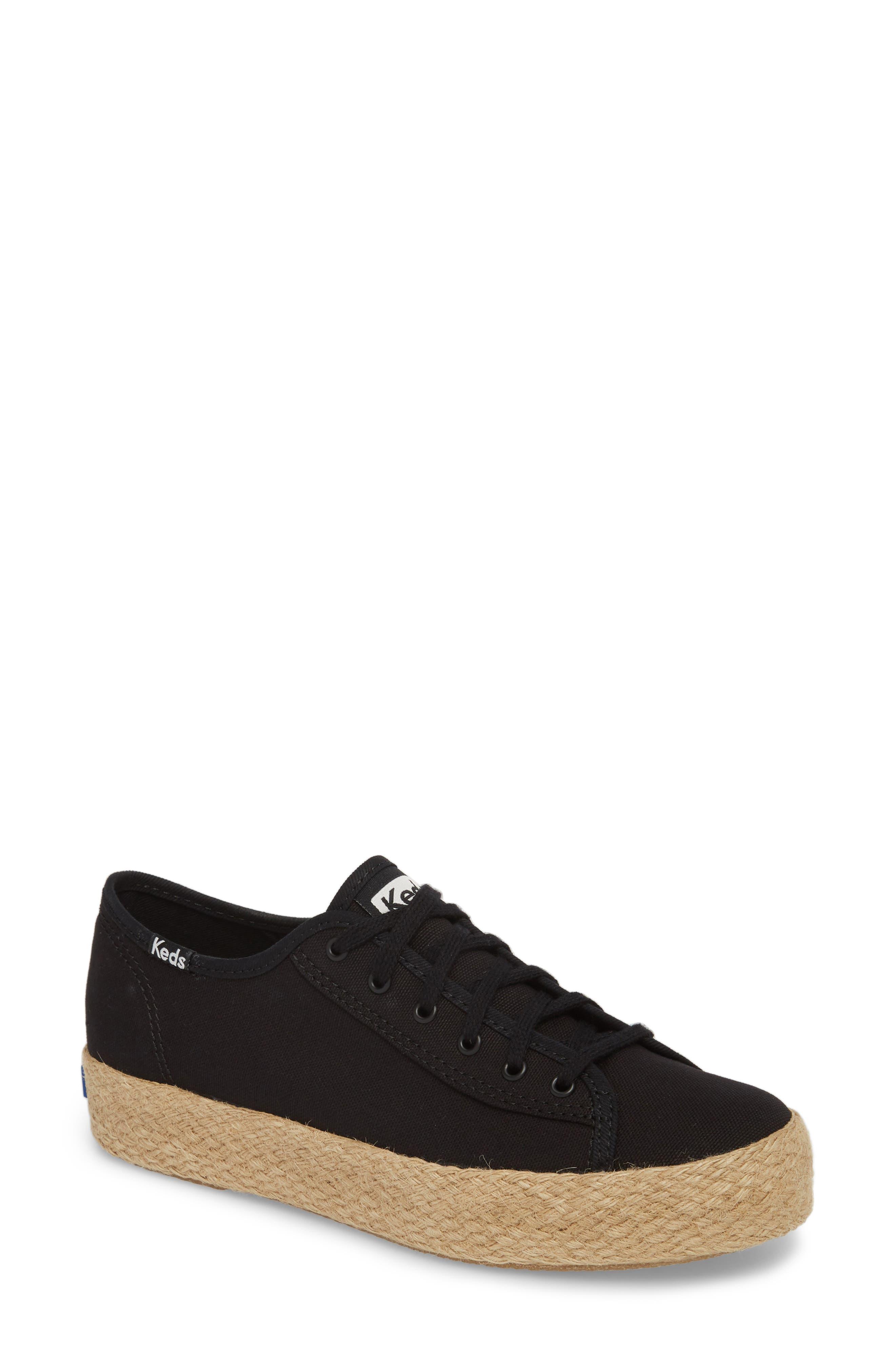 Keds® Triple Kick Espadrille Platform Sneaker (Women)