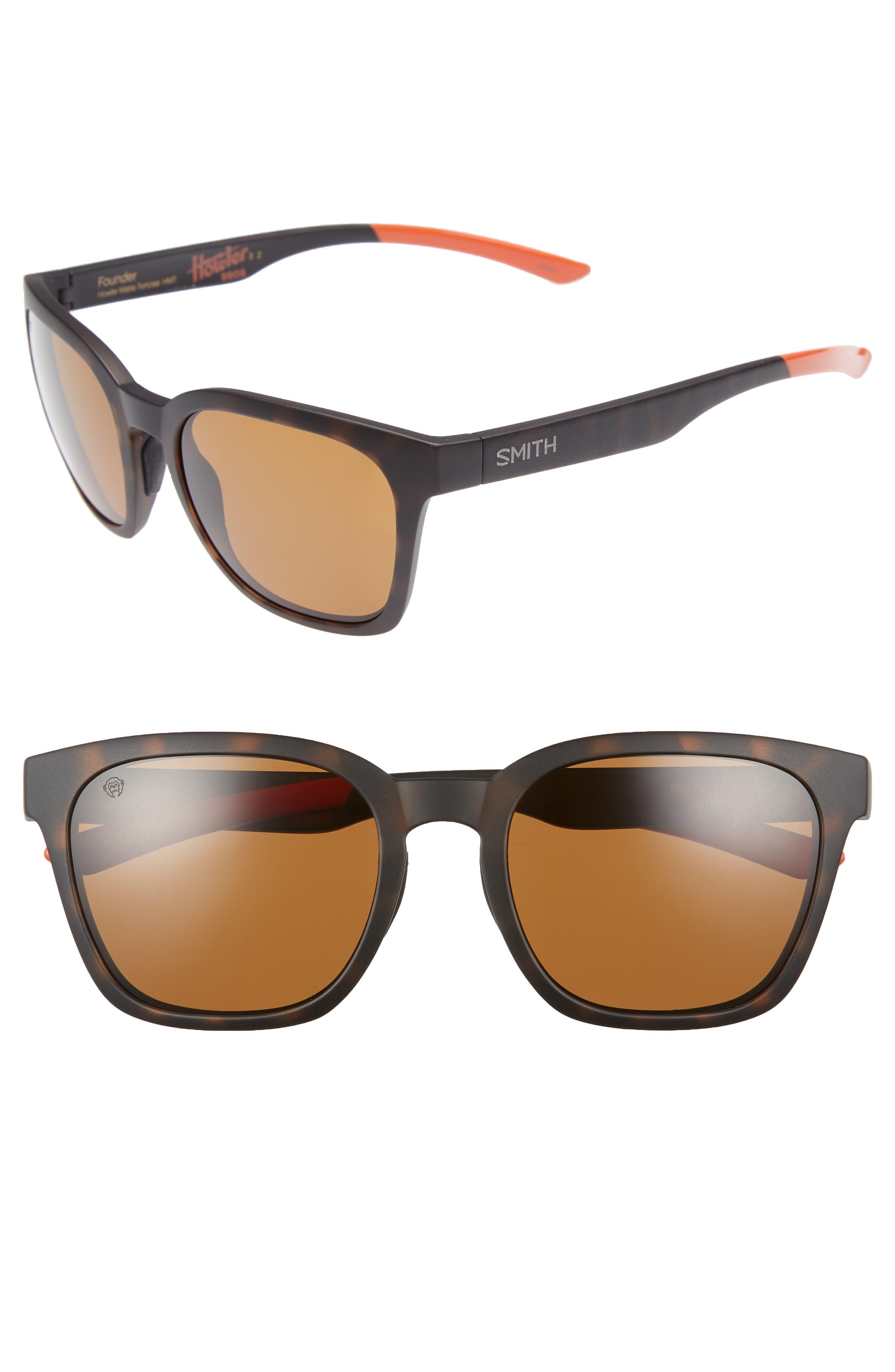 Founder 56mm ChromaPop Polarized Sunglasses,                             Main thumbnail 1, color,                             Howler Matte Tortoise