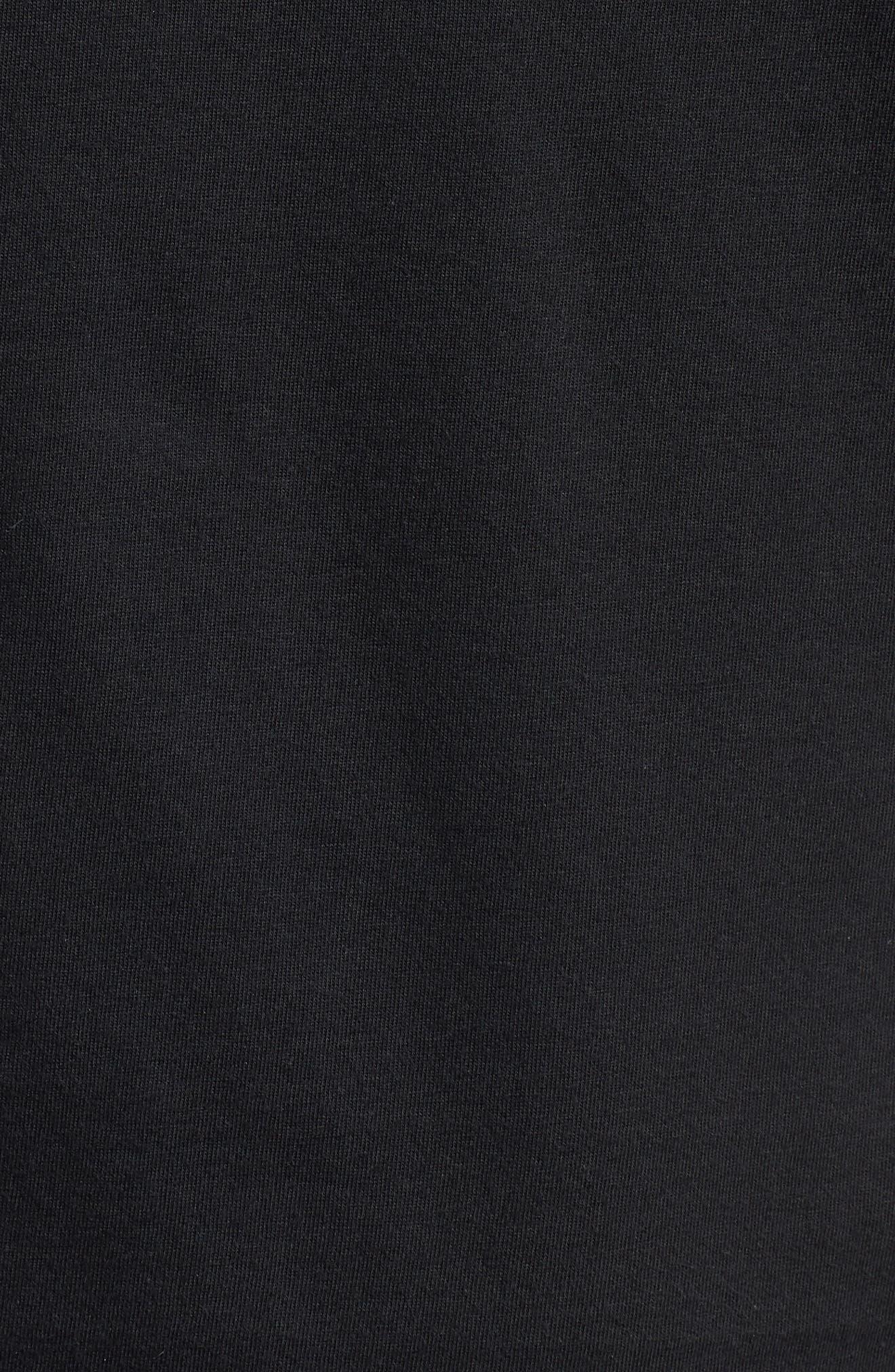 Sportswear Futura Logo Graphic T-Shirt,                             Alternate thumbnail 5, color,                             Black/ Vintage Wine
