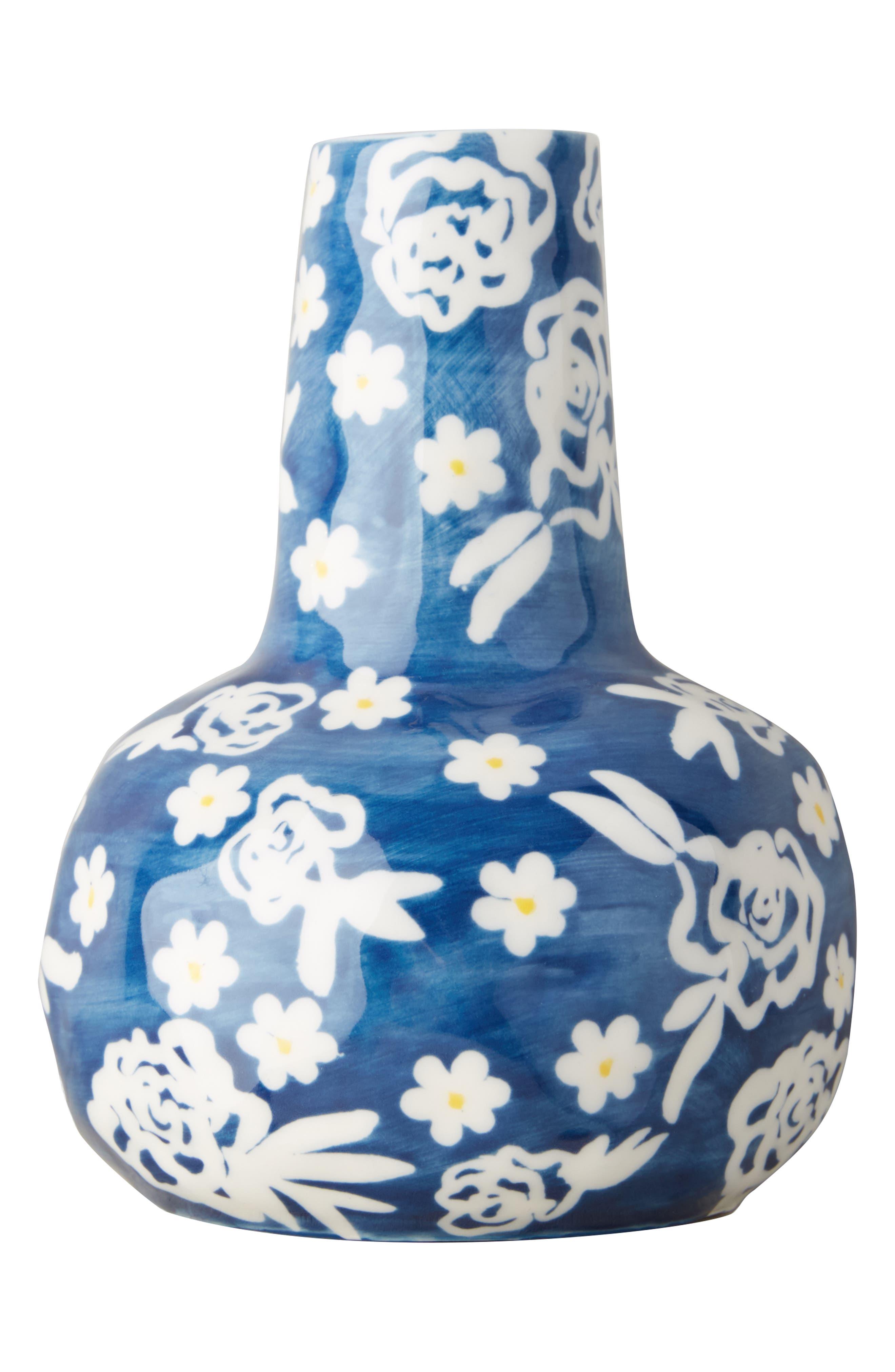 Welcome Spring Vase,                             Alternate thumbnail 2, color,                             Blue