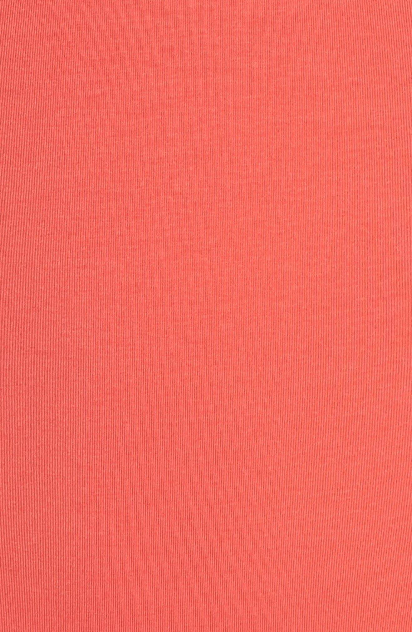 Z Tee,                             Alternate thumbnail 6, color,                             Red Hibiscus