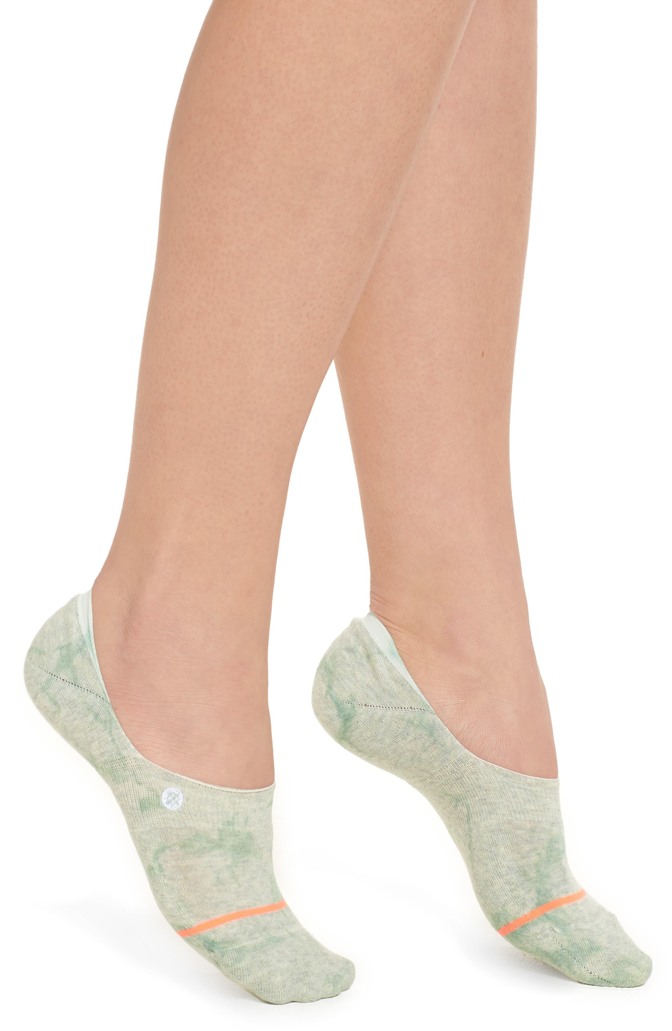 Mint No-Show Socks,                             Main thumbnail 1, color,                             Mint